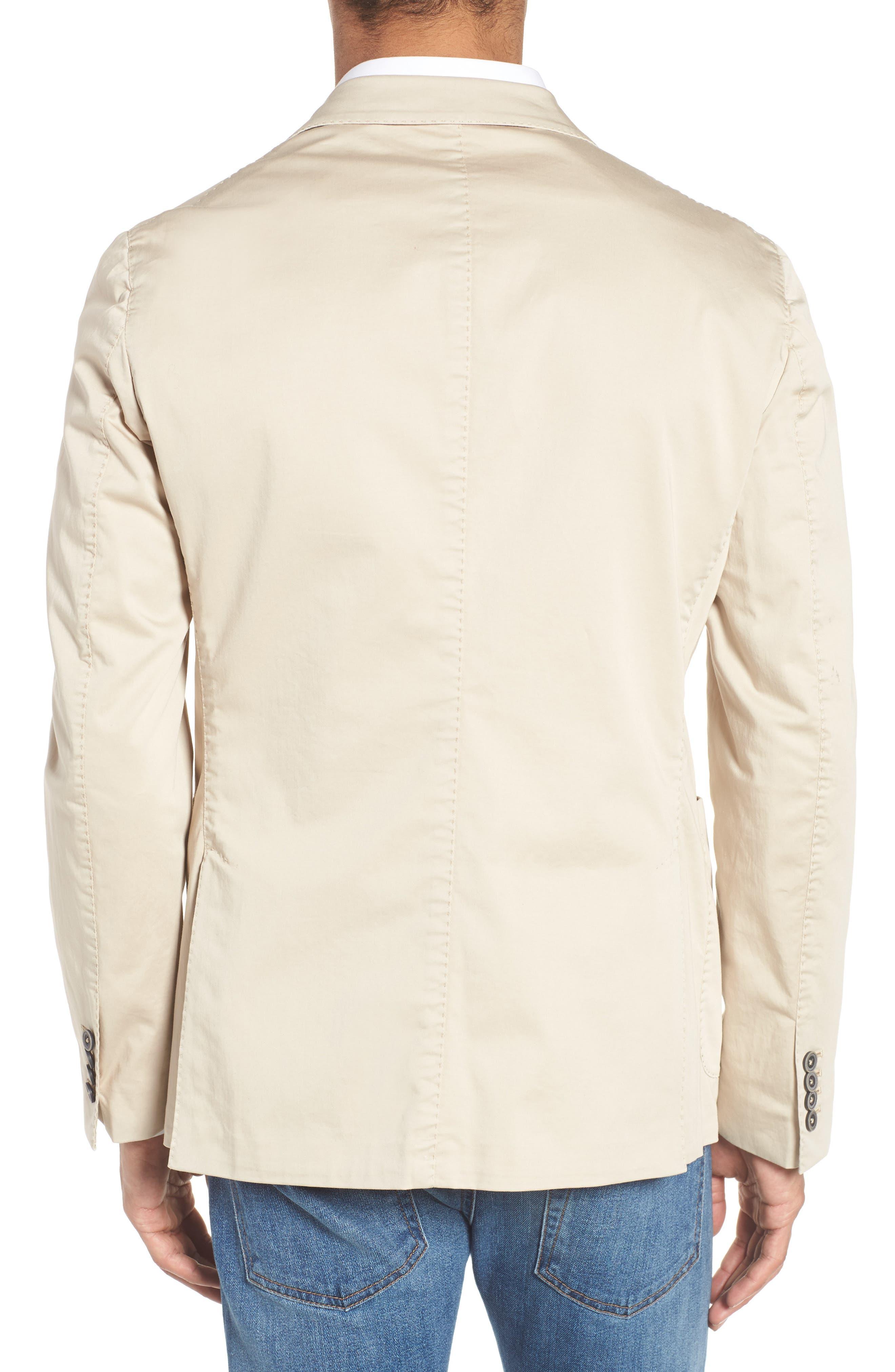 Alternate Image 2  - Culturata Trim Fit Stretch Cotton Blazer