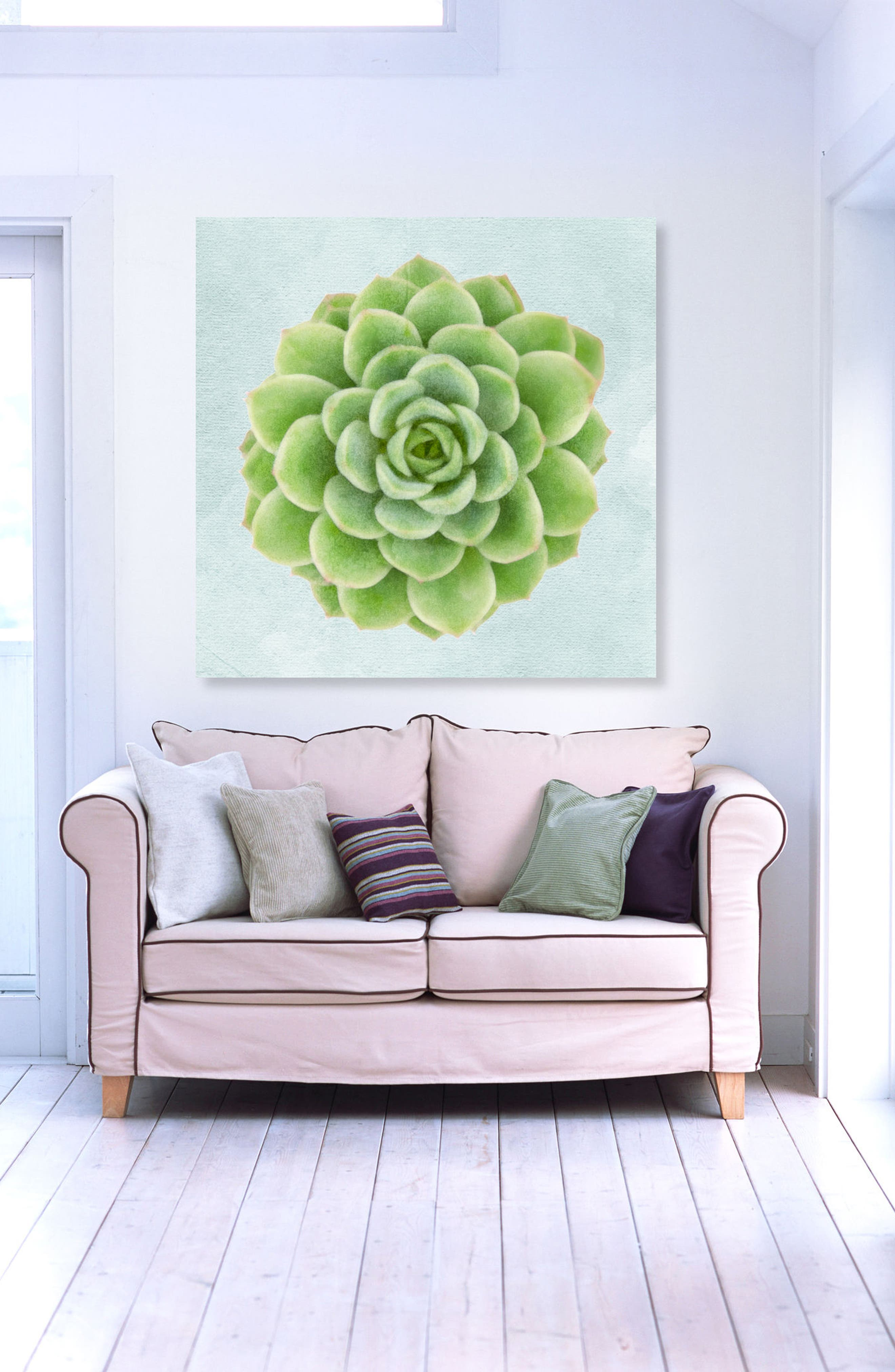 Alternate Image 2  - Oliver Gal Succulent Dream I Canvas Wall Art