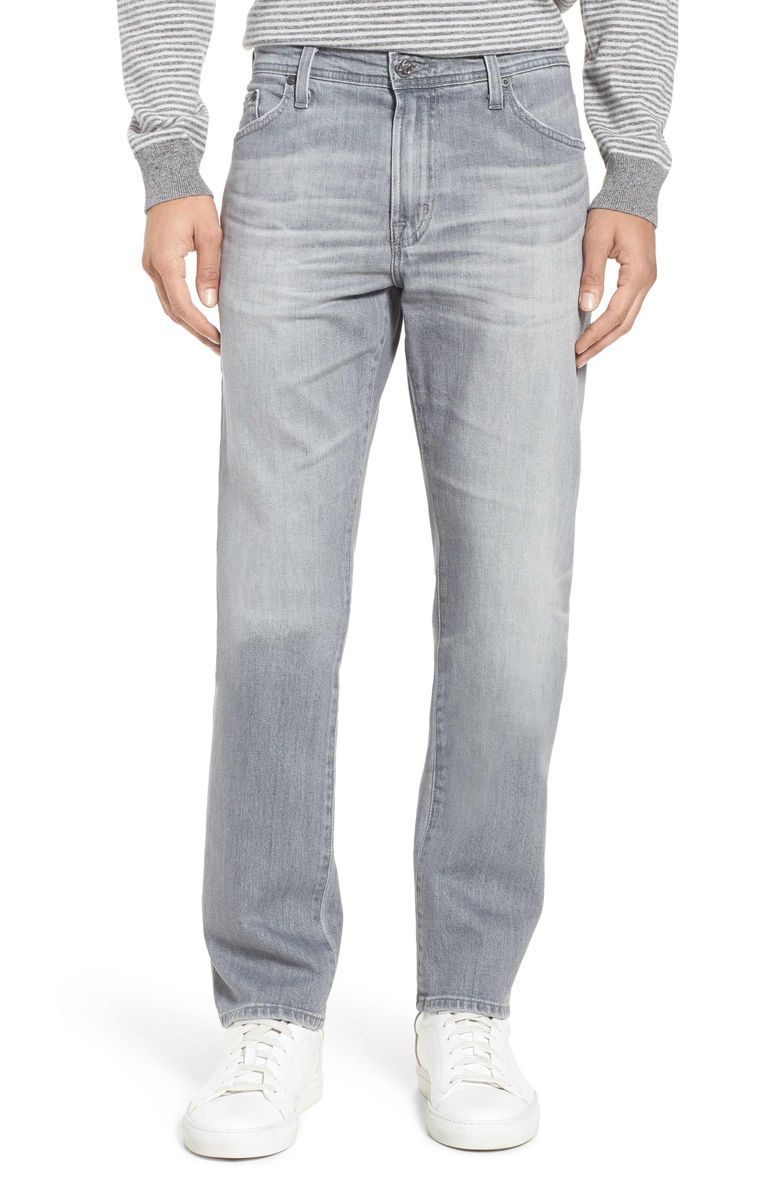 Everett Slim Straight Fit Jeans,                             Main thumbnail 1, color,                             14 Years Colony