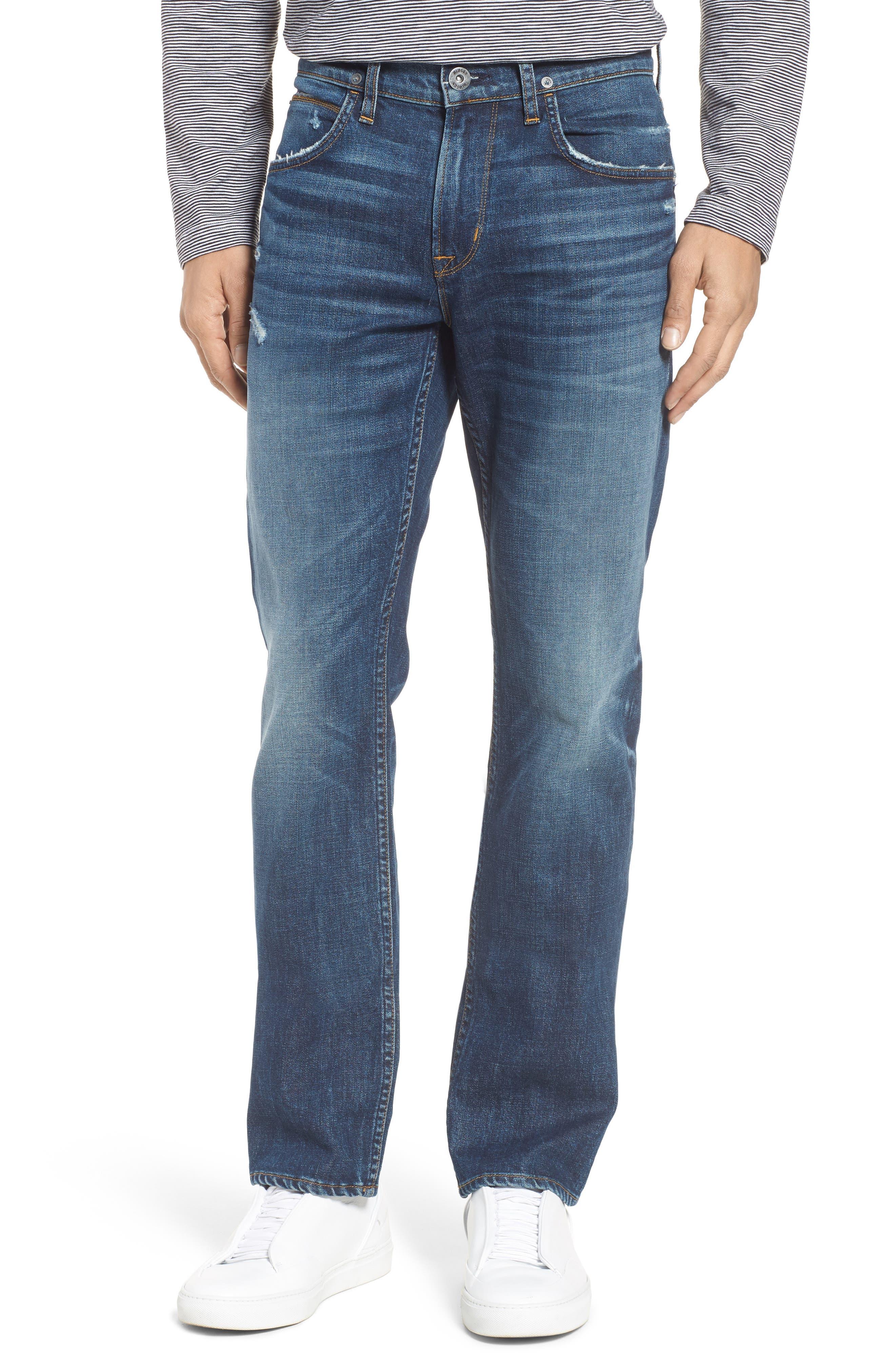 Hudson Jeans Byron Slim Straight Leg Jeans (Shuvit)