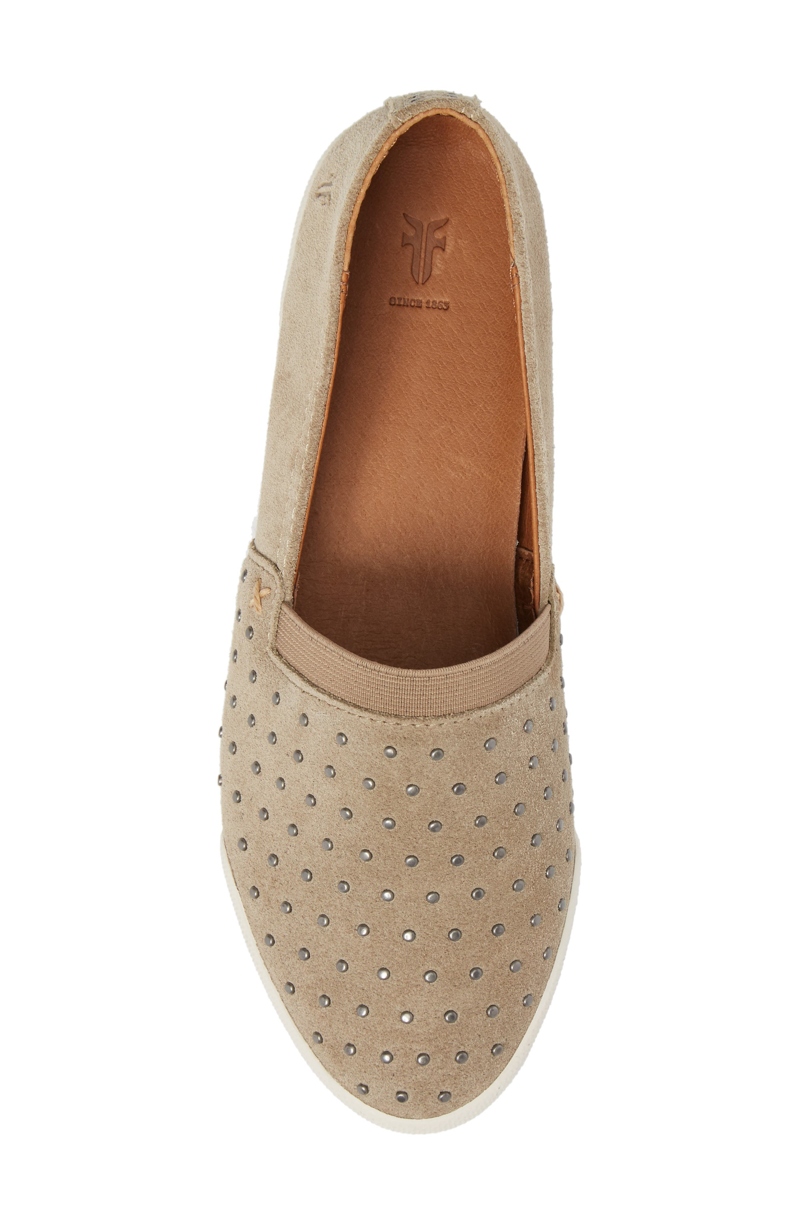 Alternate Image 5  - Frye Melanie Stud Slip-On Sneaker (Women)