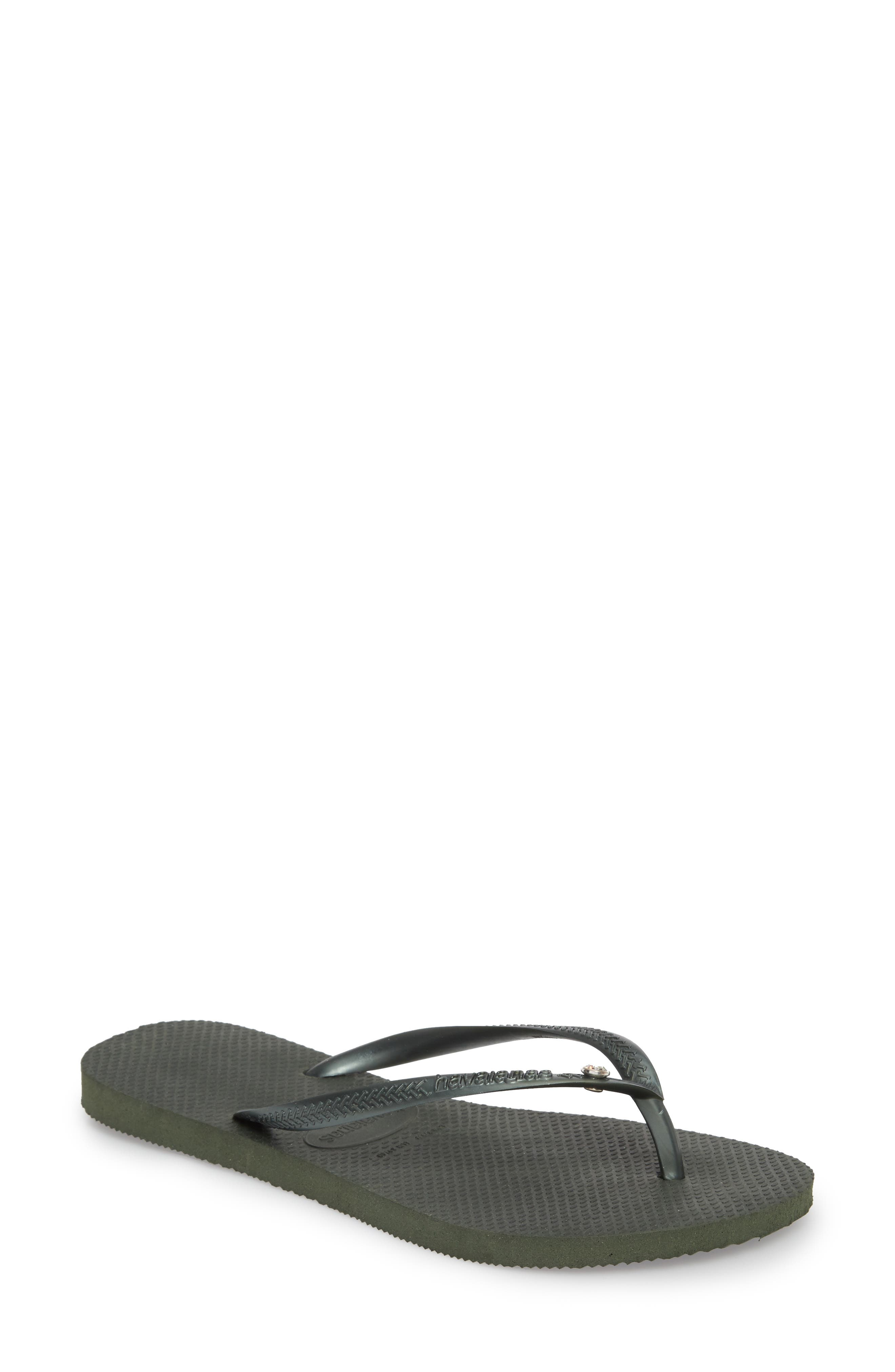 Alternate Image 1 Selected - Havaianas 'Slim Crystal Glamour' Flip Flop (Women)