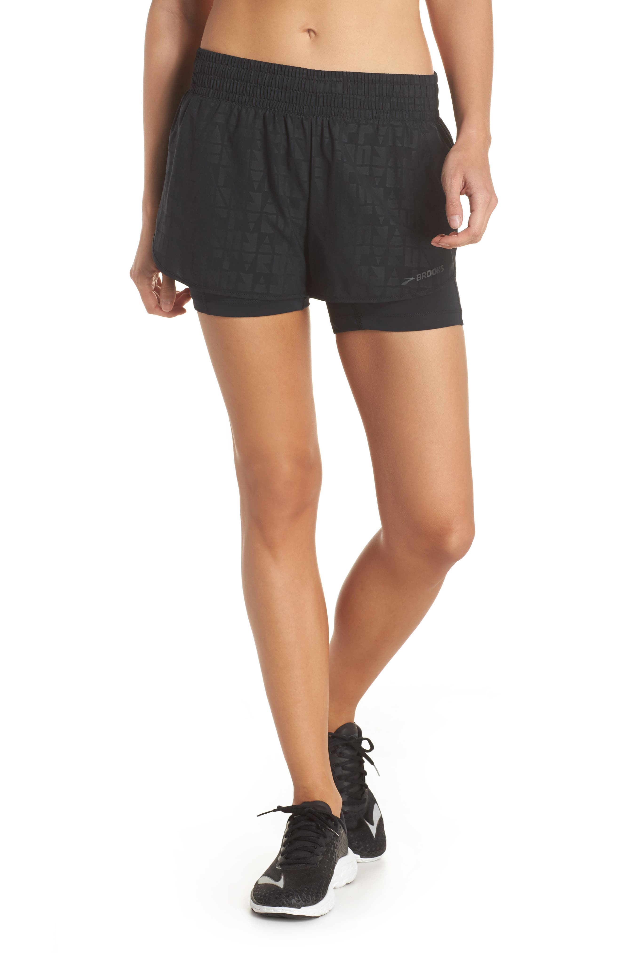 Alternate Image 1 Selected - Brooks Circuit 2-in-1 Shorts