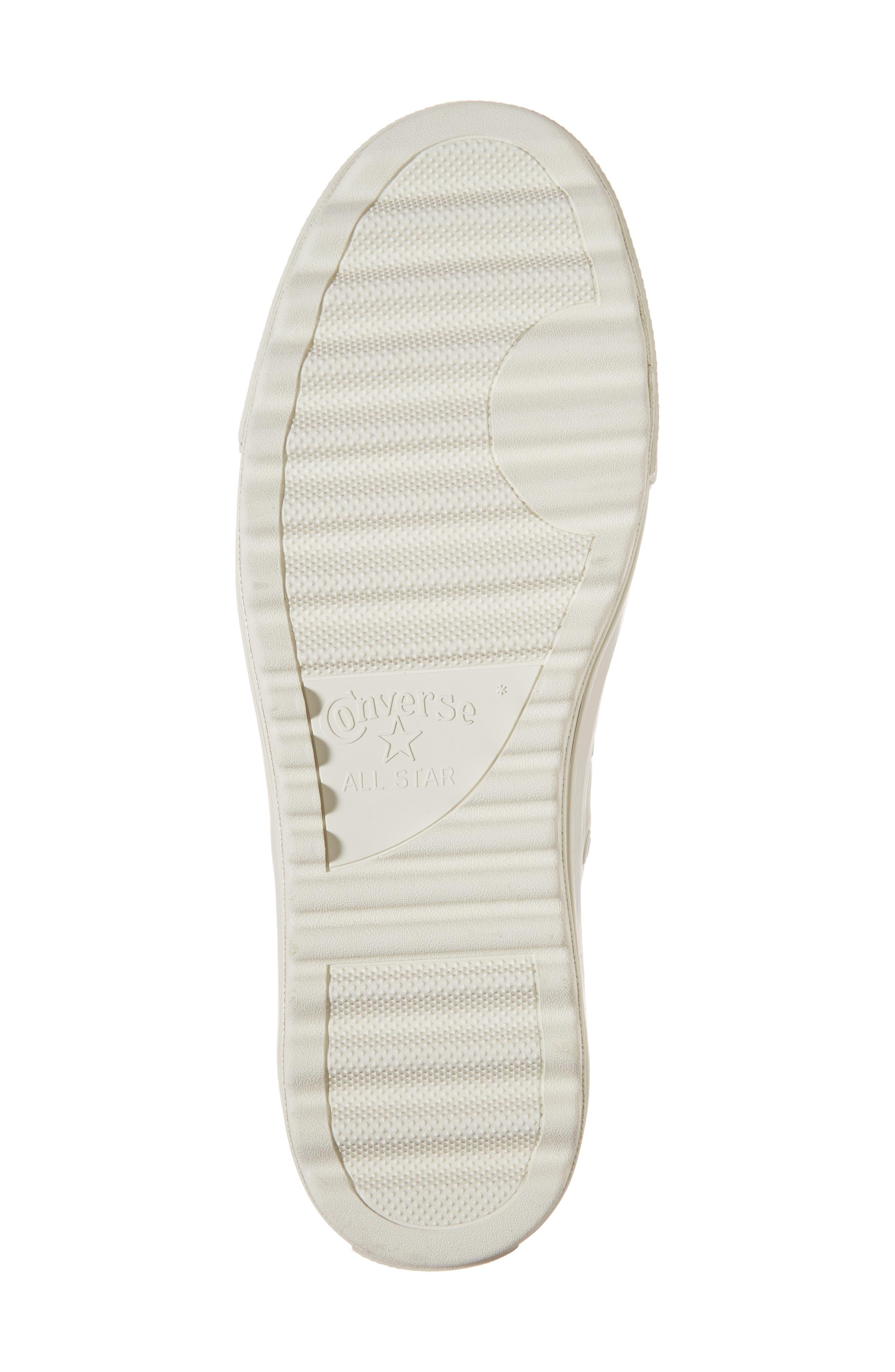 Studded Lift Ripple Sneaker,                             Alternate thumbnail 6, color,                             Vaporous Gray