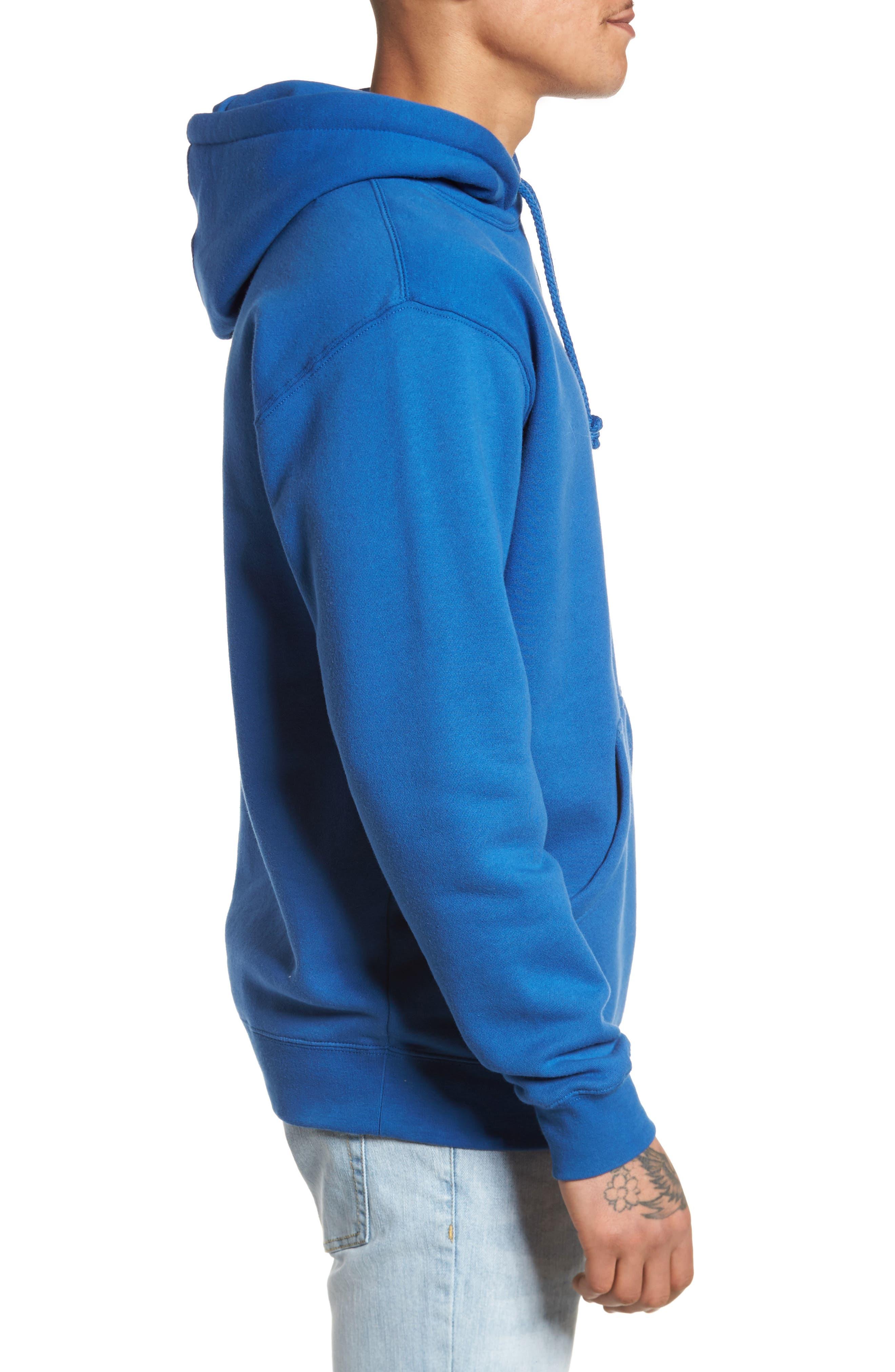 Alternate Reality Hoodie Sweatshirt,                             Alternate thumbnail 3, color,                             Royal Blue