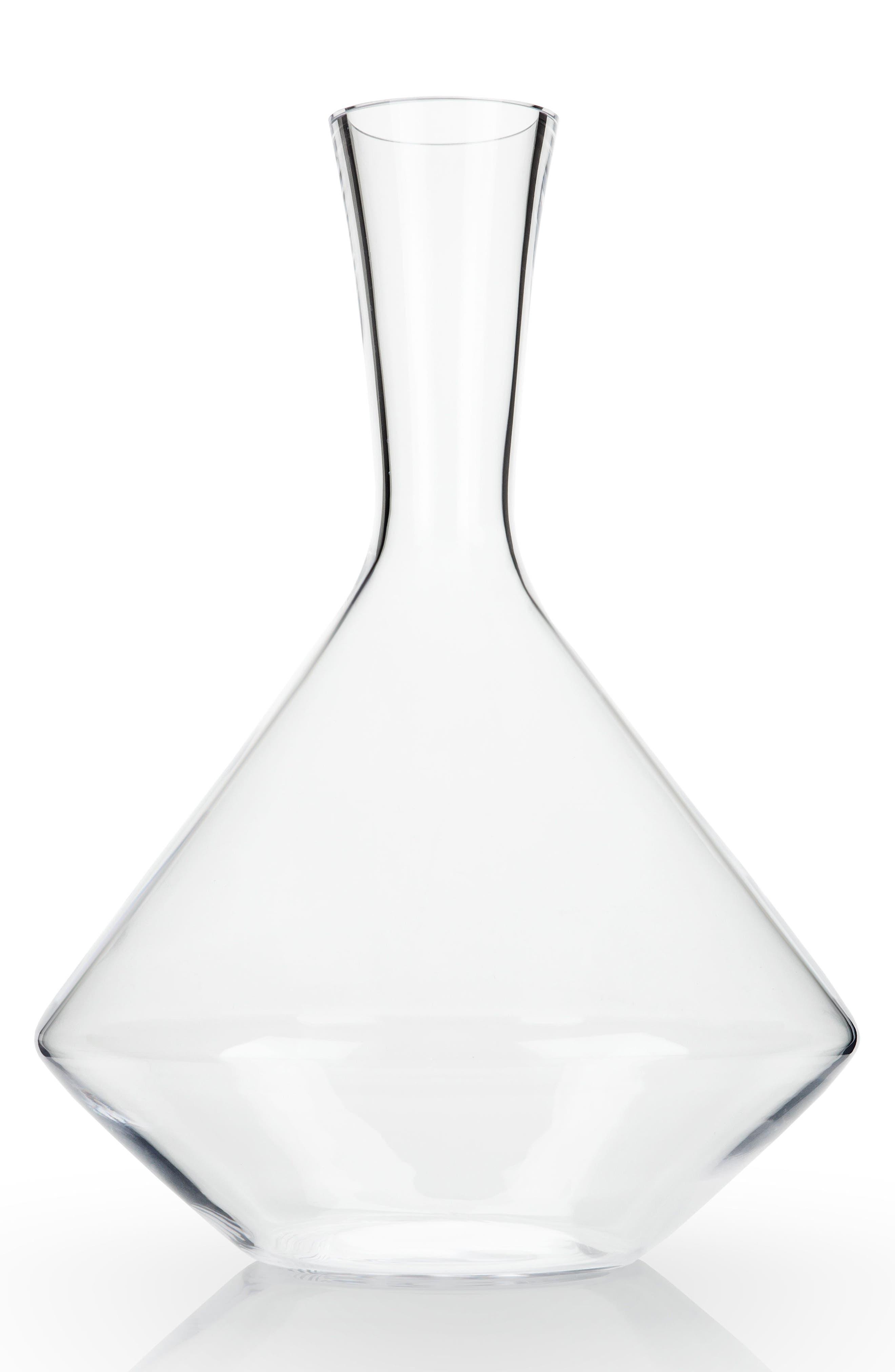 Raye Angle Decanter,                         Main,                         color, Clear