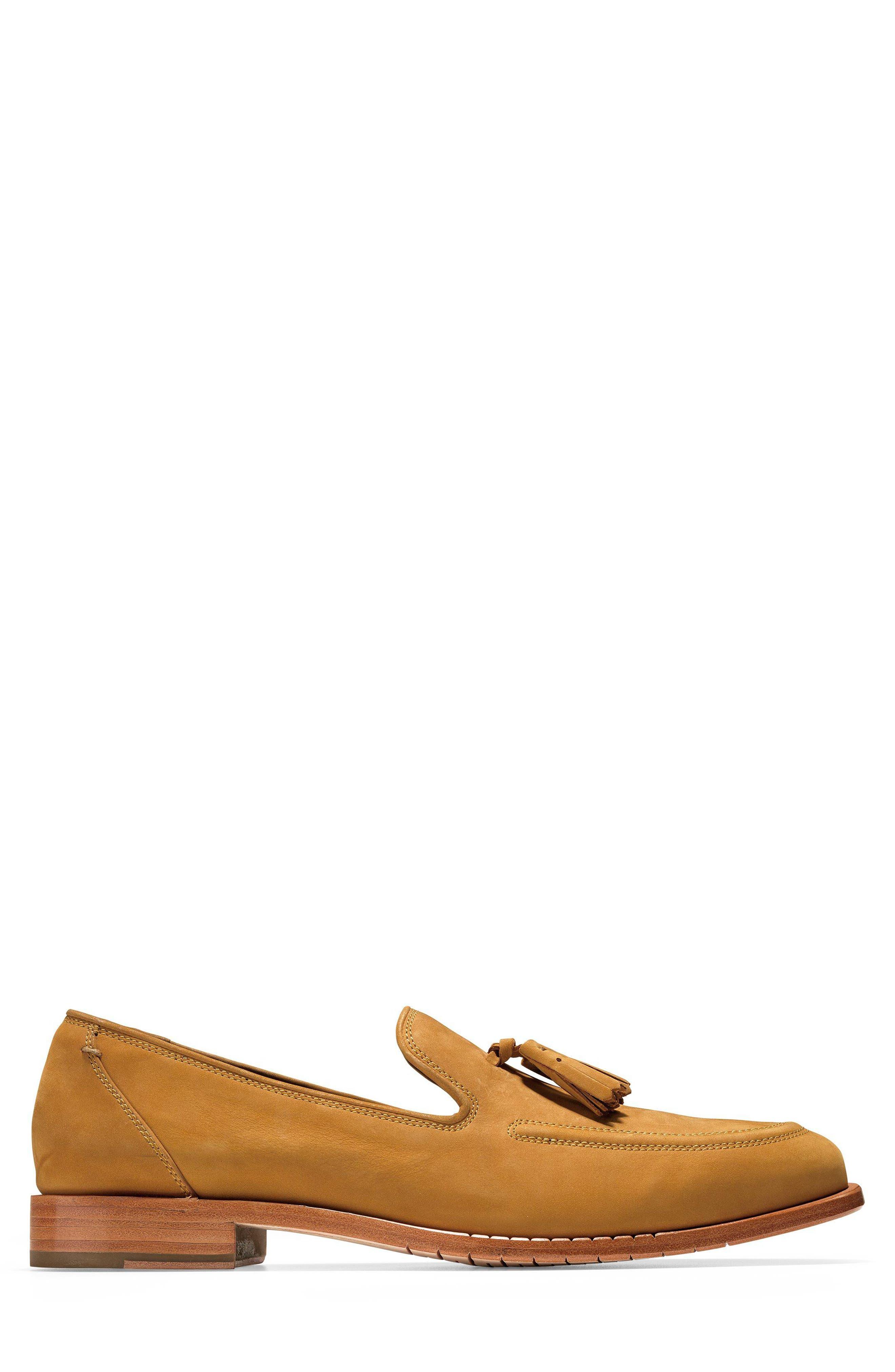 Washington Grand Tassel Loafer,                             Alternate thumbnail 3, color,                             Cathay Spice Nubuck