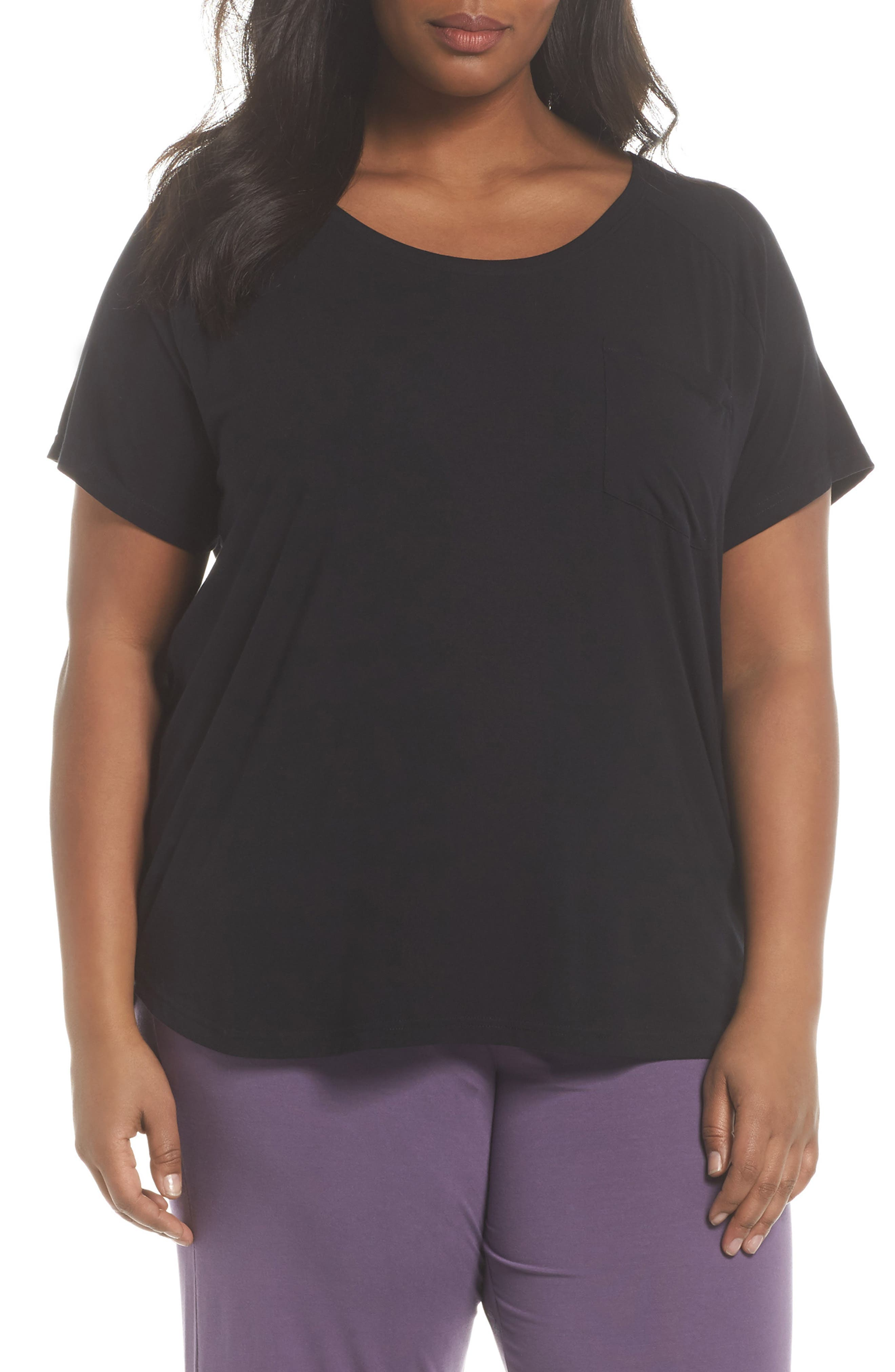 Breathe Tee,                         Main,                         color, Black