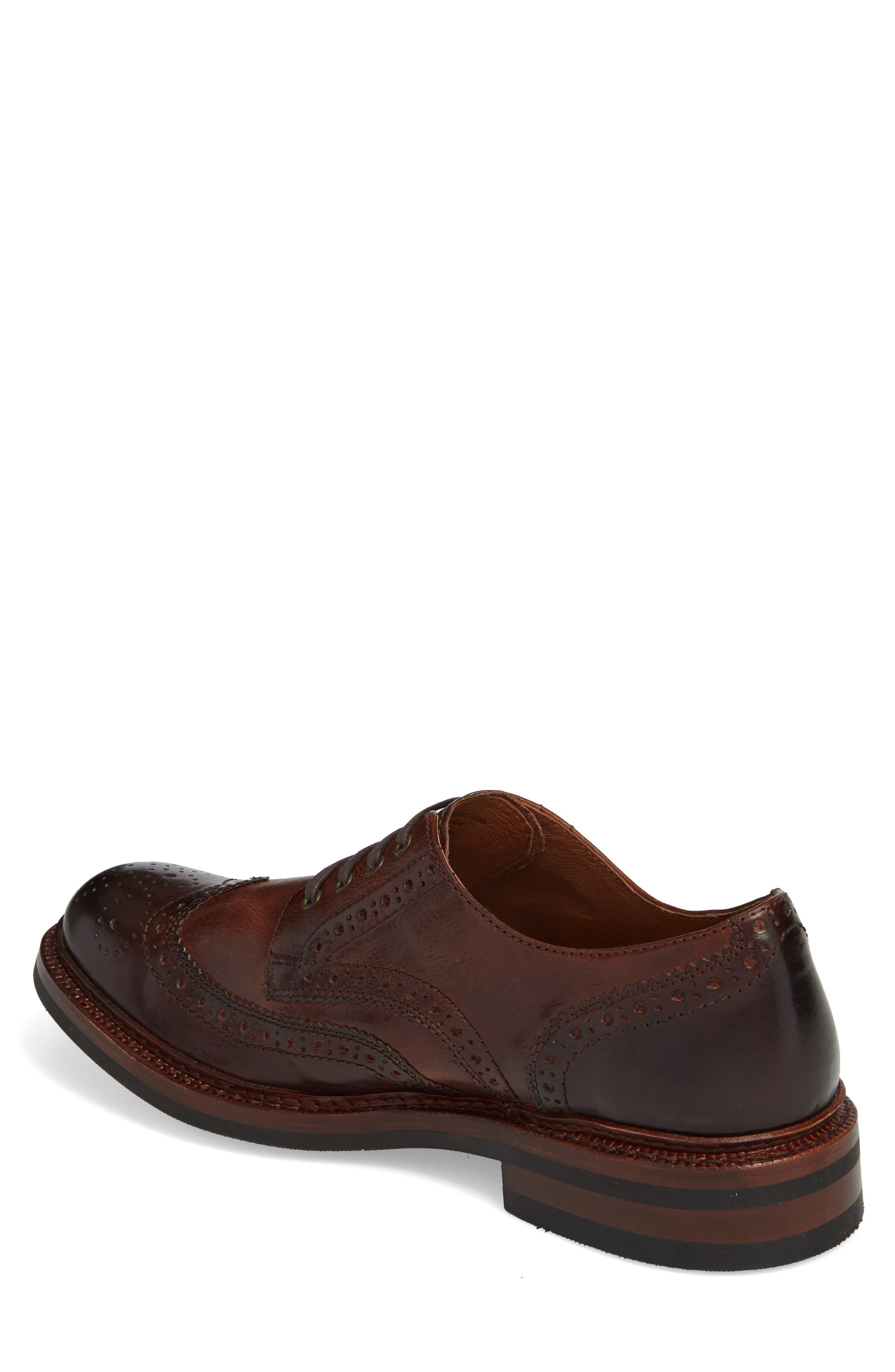 Graham Wingtip,                             Alternate thumbnail 2, color,                             Cognac Leather