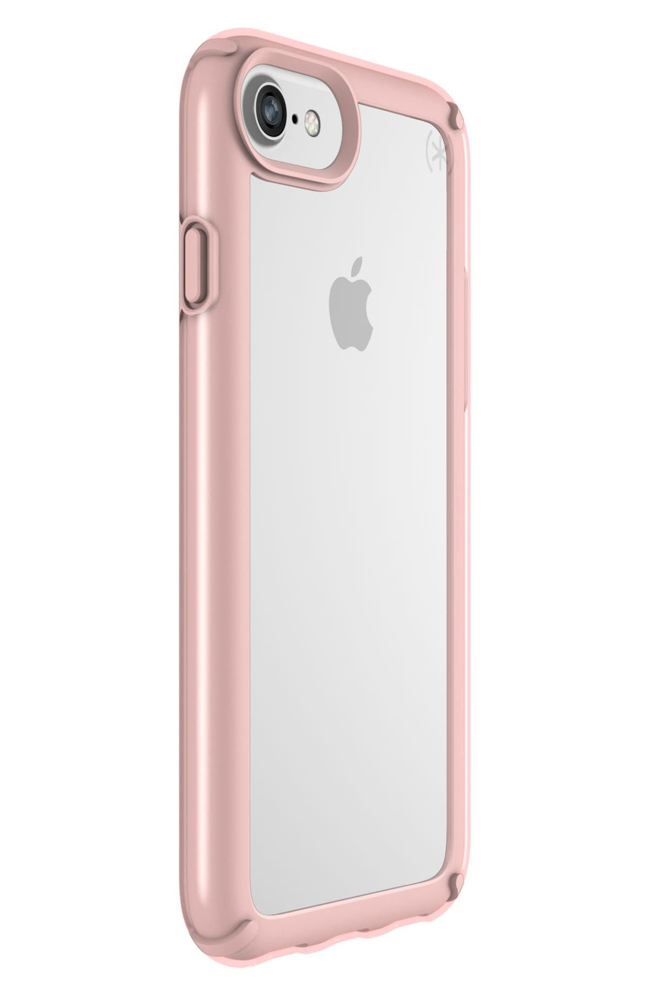 Transparent iPhone 6/6s/7/8 Case,                             Alternate thumbnail 2, color,                             Clear/ Rose Gold