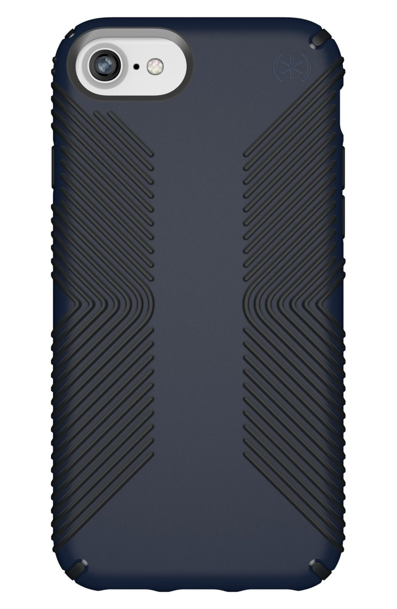 Grip iPhone 6/6s/7/8 Case,                             Main thumbnail 1, color,                             Eclipse Blue/ Carbon Black