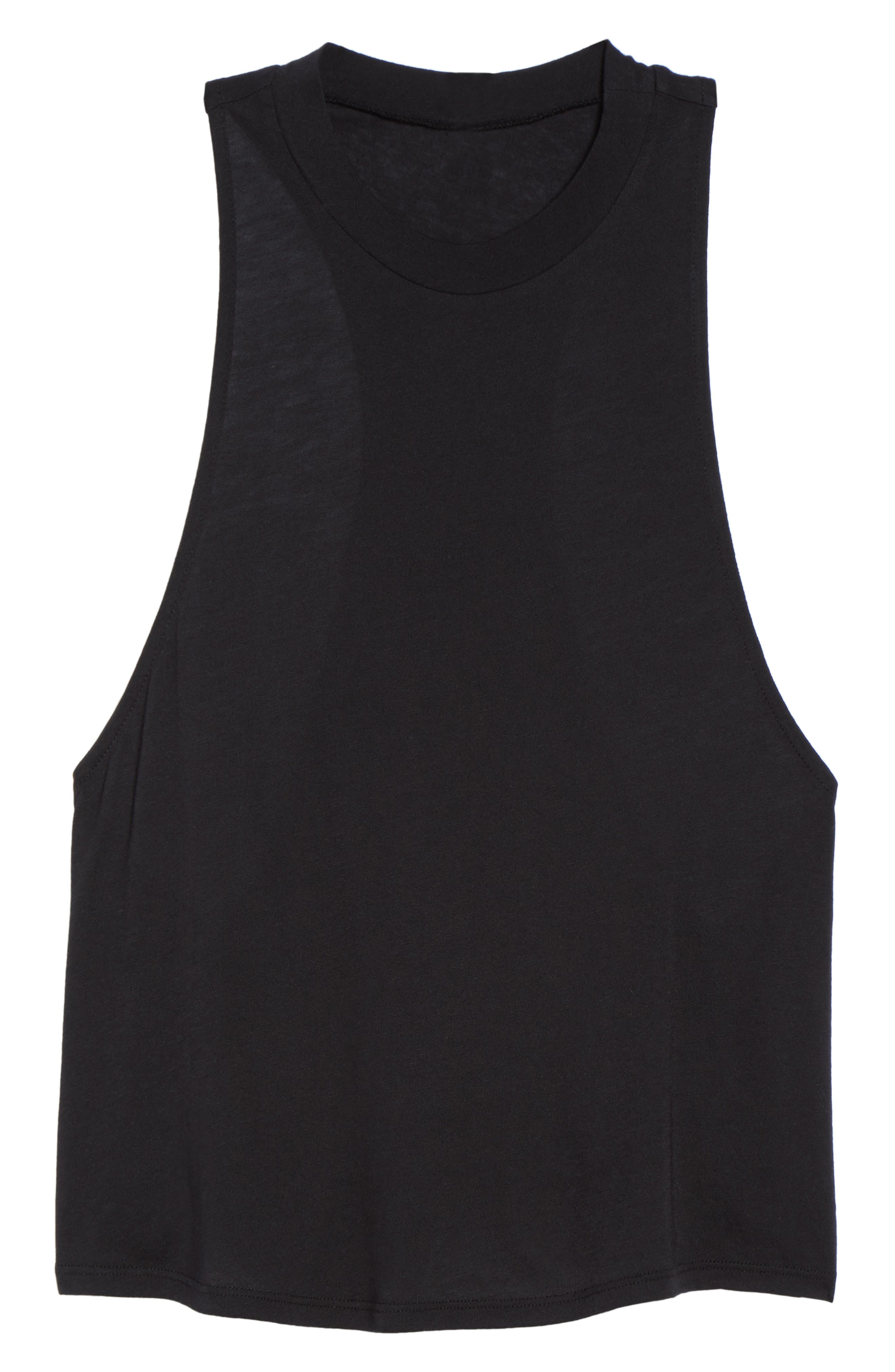 Flex Tank,                             Alternate thumbnail 7, color,                             Black