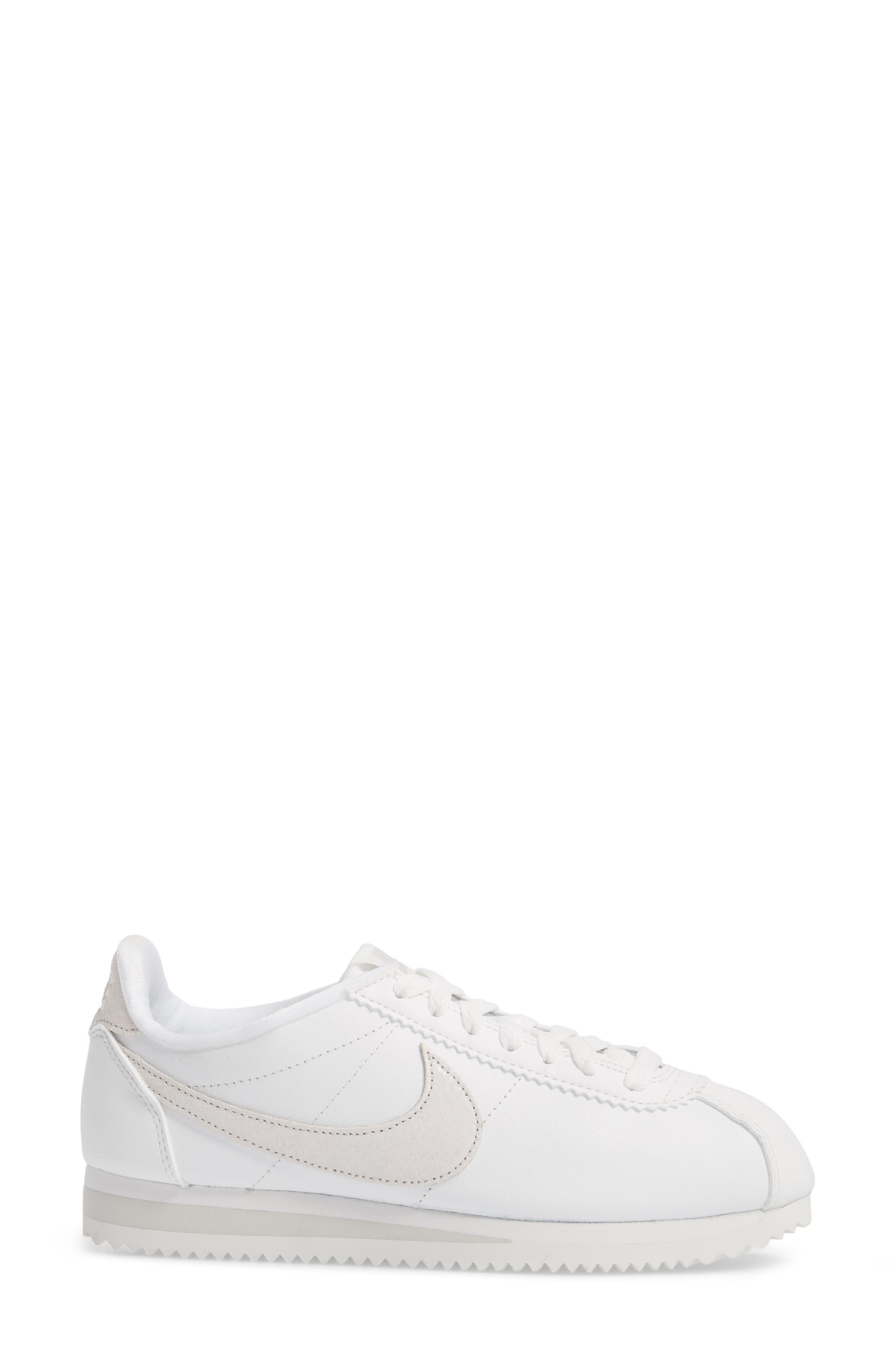 Alternate Image 3  - Nike Classic Cortez Premium Sneaker (Women)