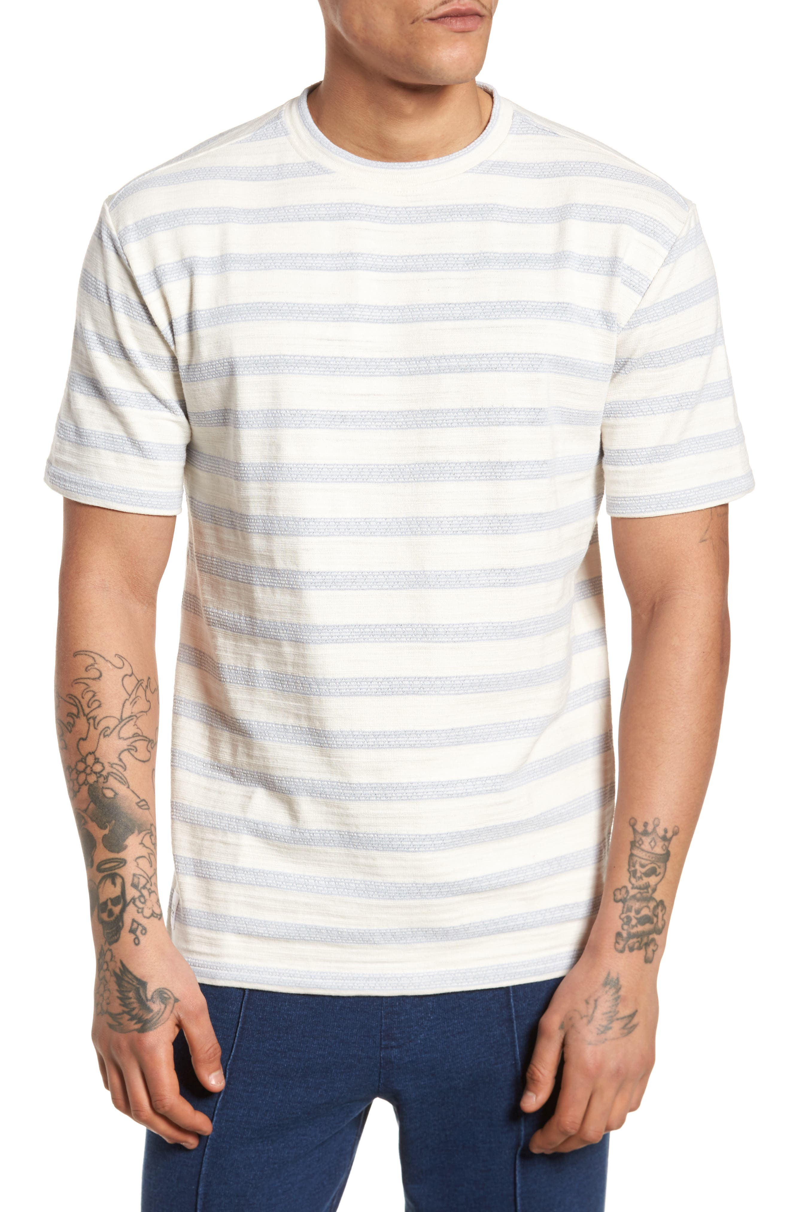 Waves T-Shirt,                         Main,                         color, Off White