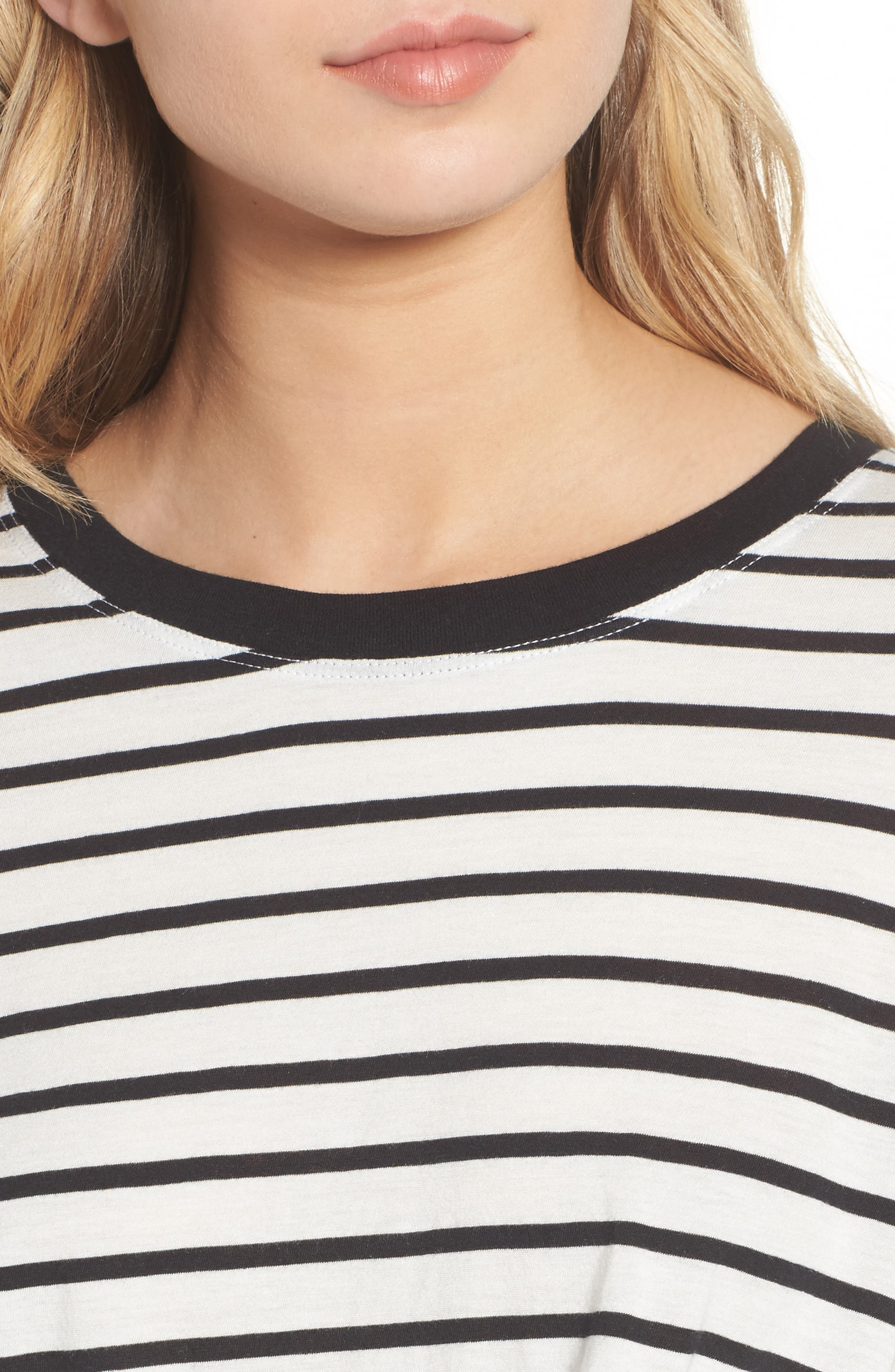 Alternate Image 4  - 7 For All Mankind® Stripe Knotted Tee