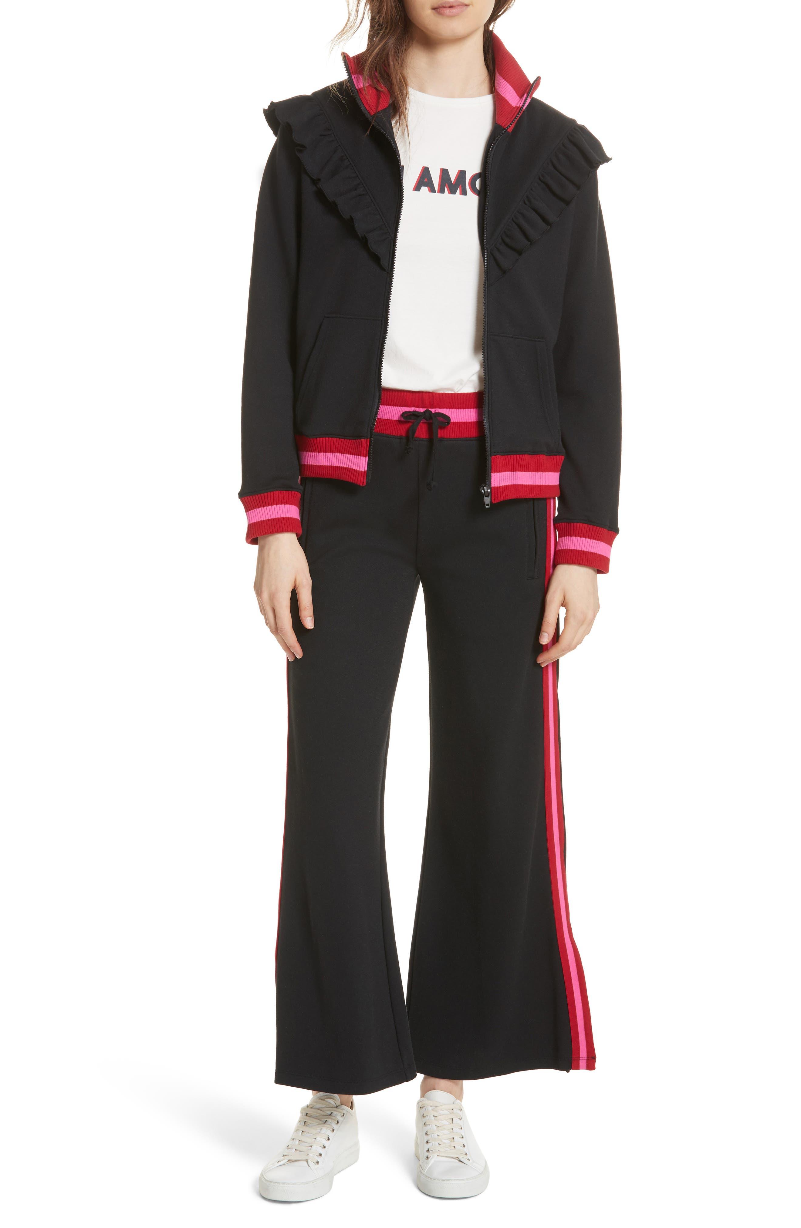 Alternate Image 5  - Joie Deetra Rib Knit Trim Jacket