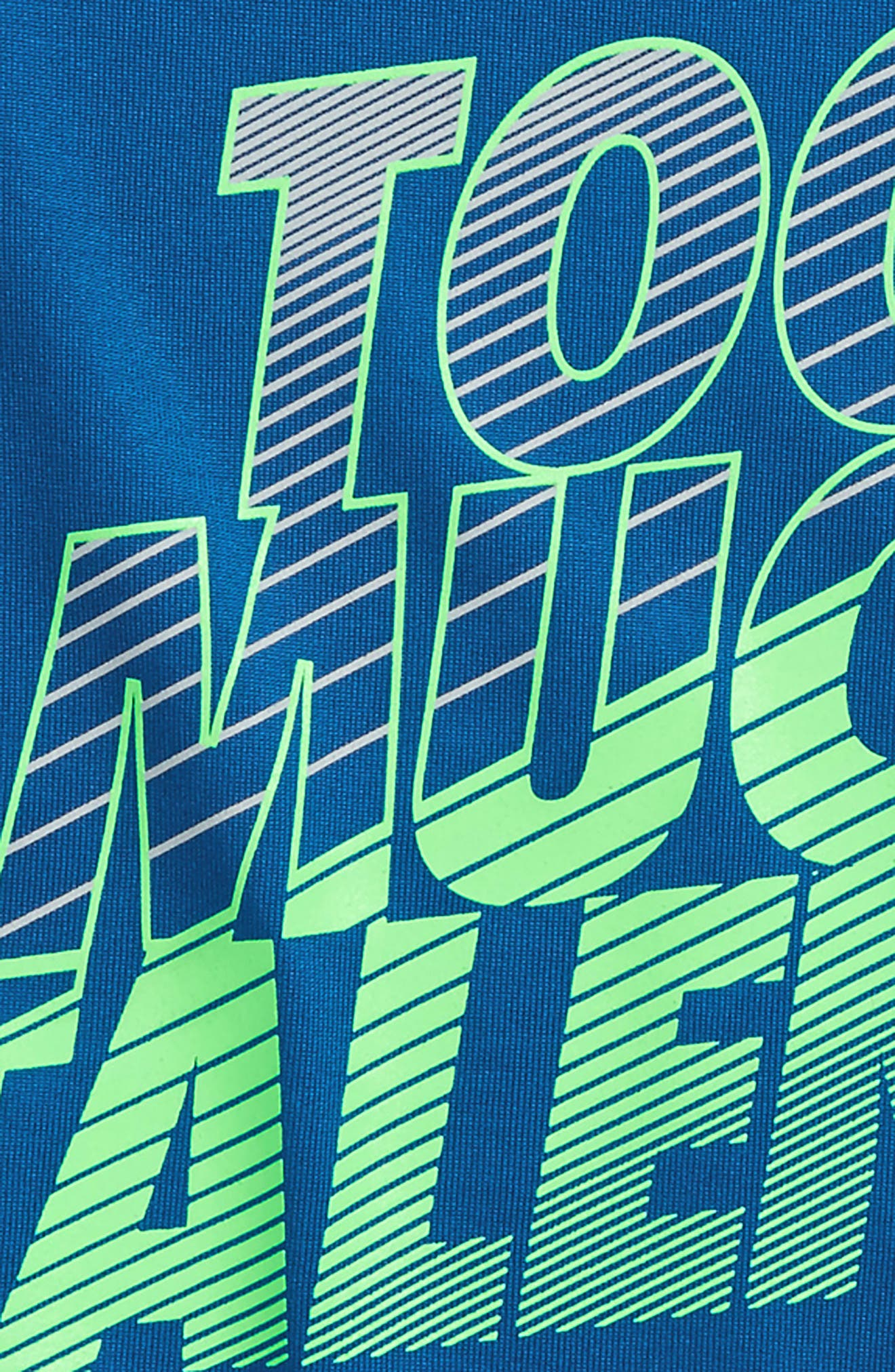 Too Much Talent Graphic T-Shirt,                             Alternate thumbnail 2, color,                             Moroccan Blue