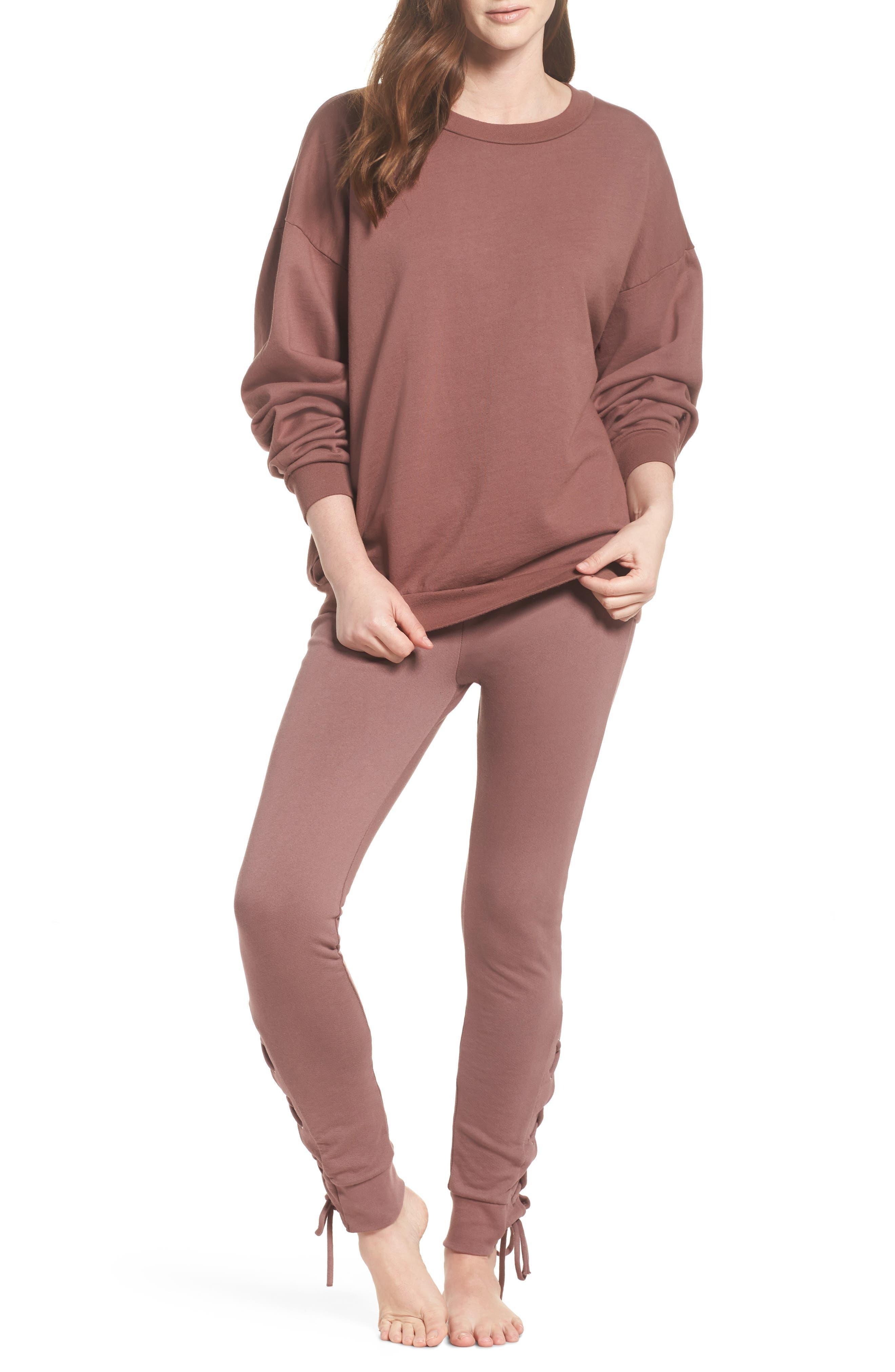 Alternate Image 4  - Michael Lauren Ellstan Oversize Boyfriend Sweatshirt