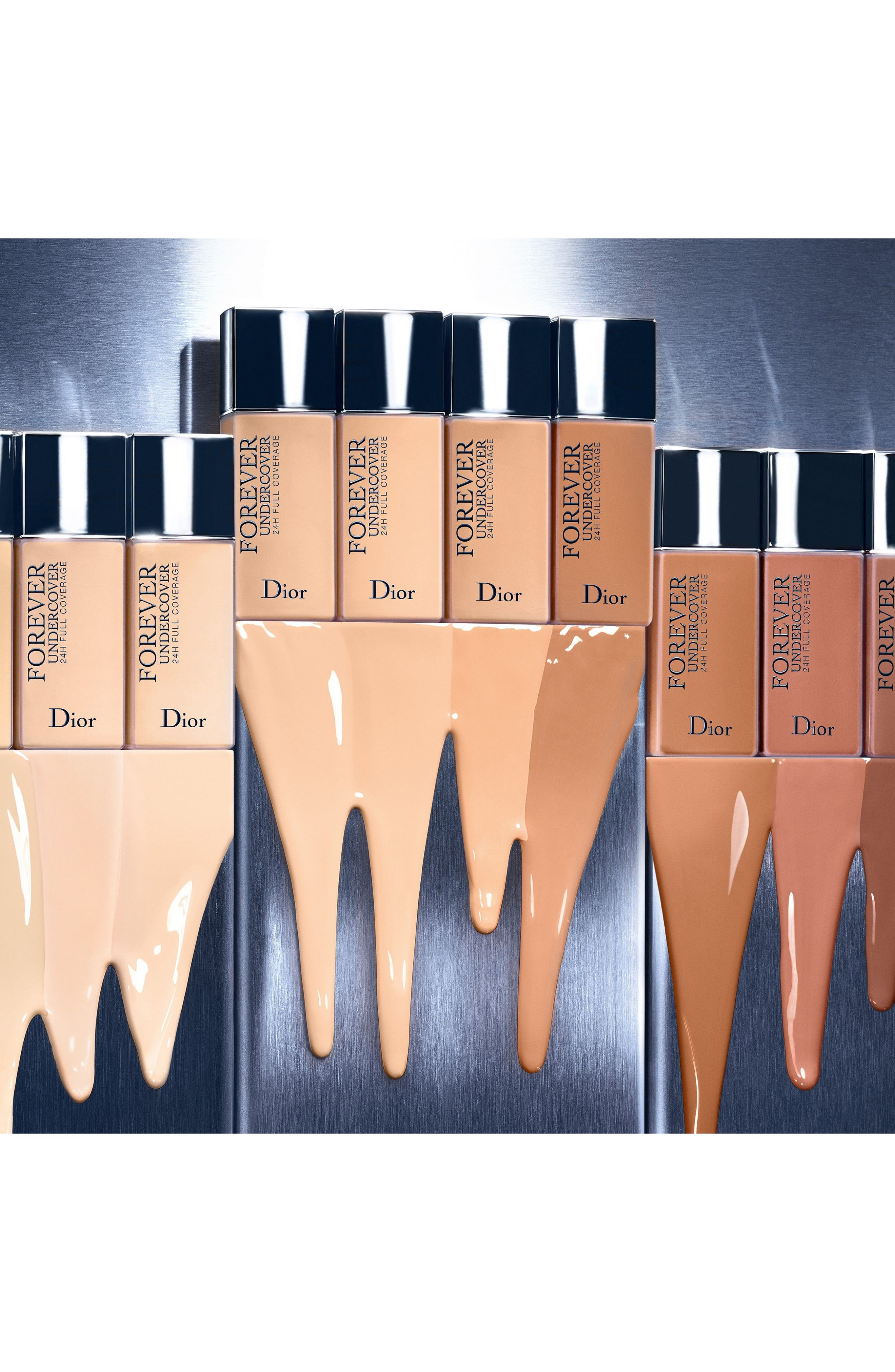 Diorskin Forever Undercover 24-Hour Full Coverage Water-Based Foundation,                             Alternate thumbnail 7, color,