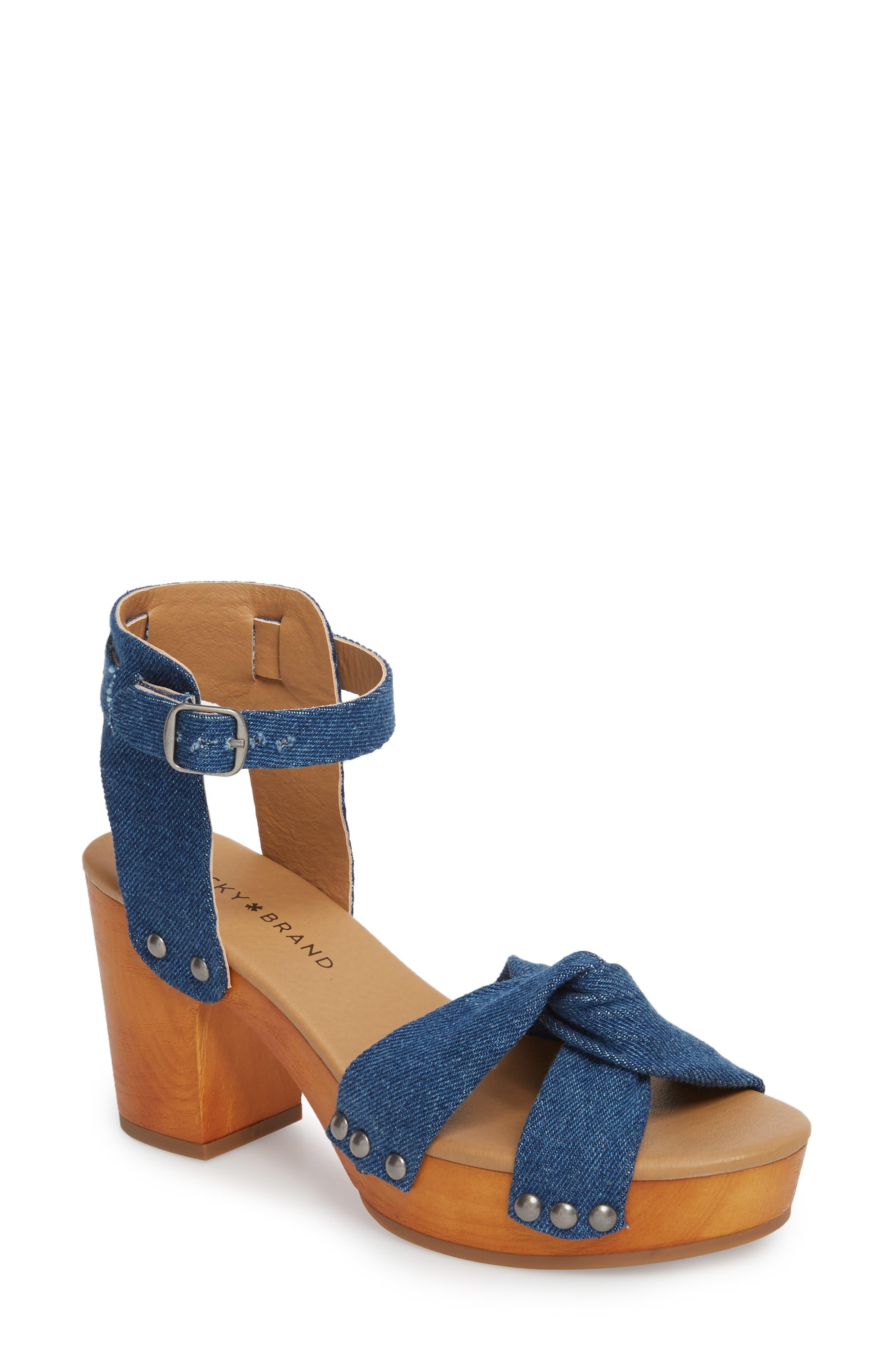 Alternate Image 1 Selected - Lucky Brand Whitneigh Sandal (Women)
