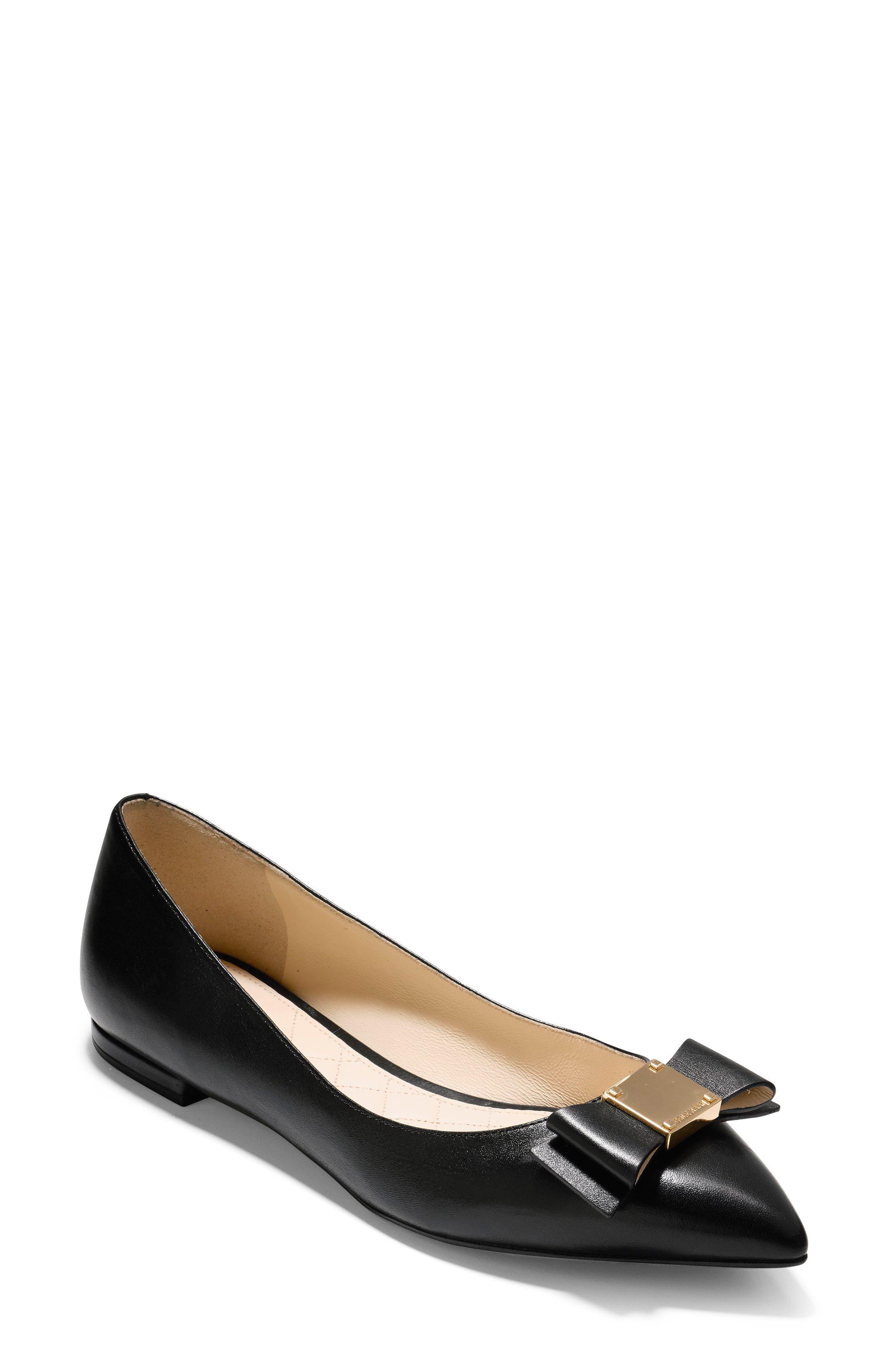 Cole Haan Tali Bow Skimmer Flat (Women)
