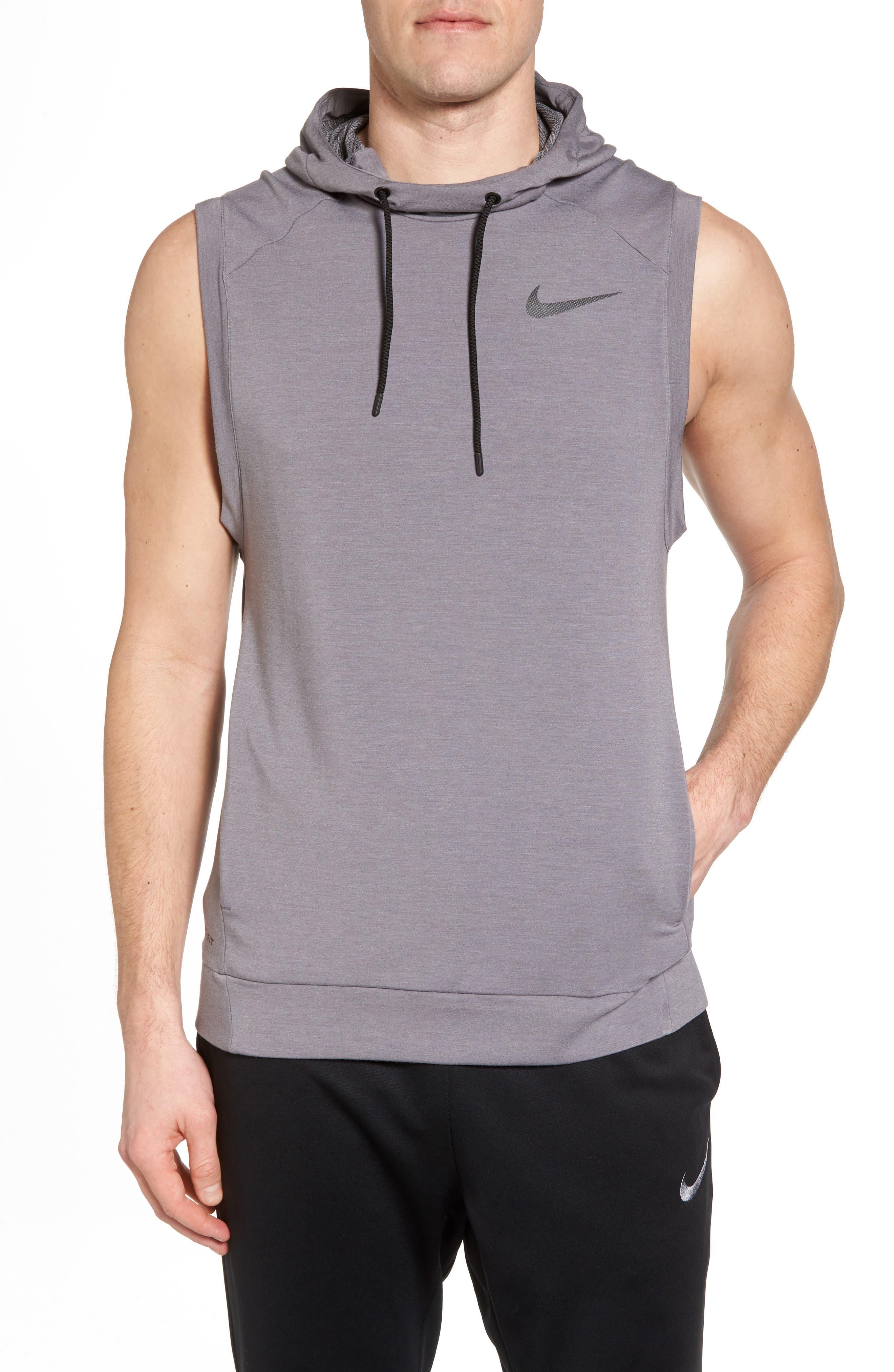 Alternate Image 1 Selected - Nike Dry Training Day Sleeveless Hoodie