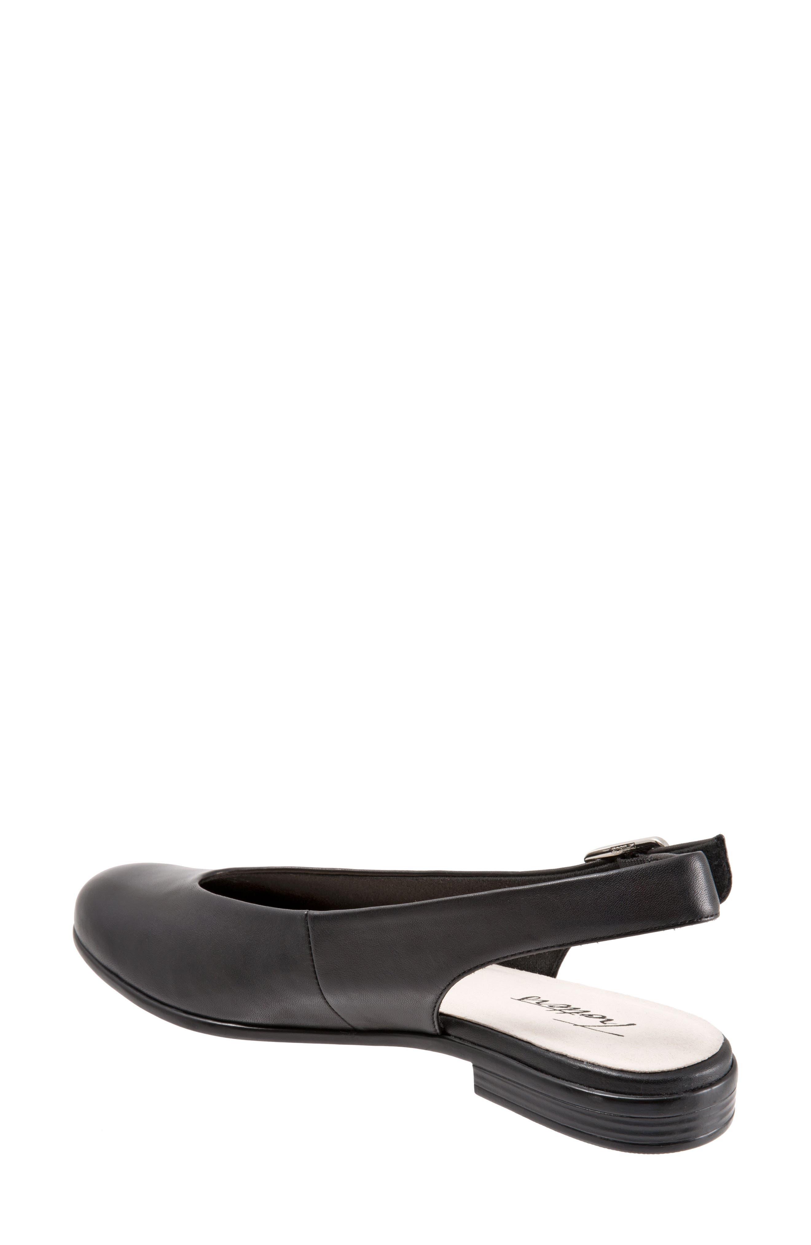 Alice Flat,                             Alternate thumbnail 2, color,                             Black Leather