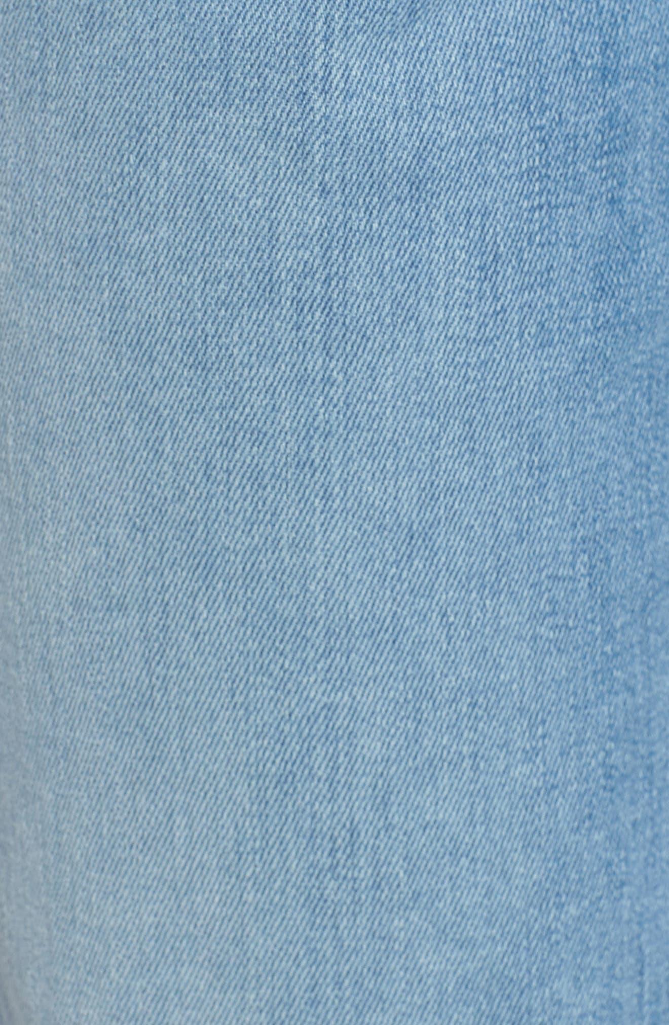 A-Pocket Flare Leg Jeans,                             Alternate thumbnail 6, color,                             Bright Palms