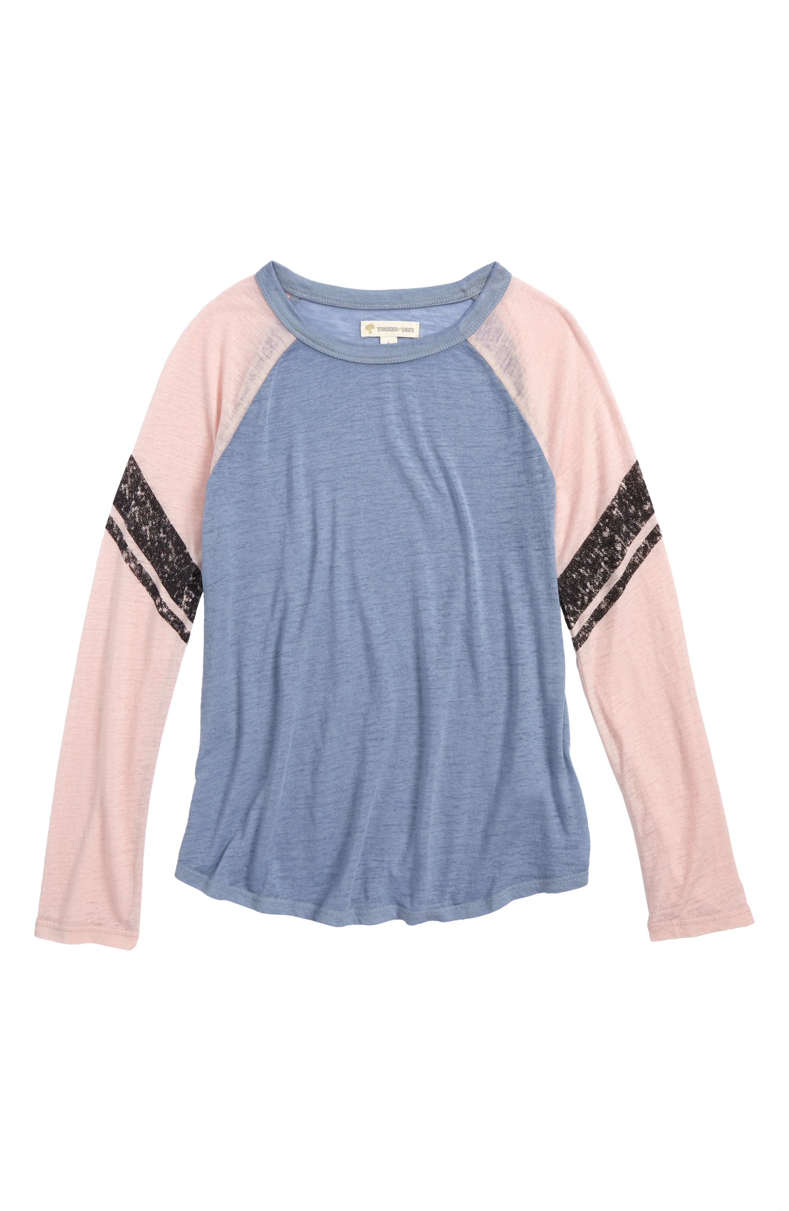 Main Image - Tucker + Tate Raglan Sleeve Tee (Big Girls)
