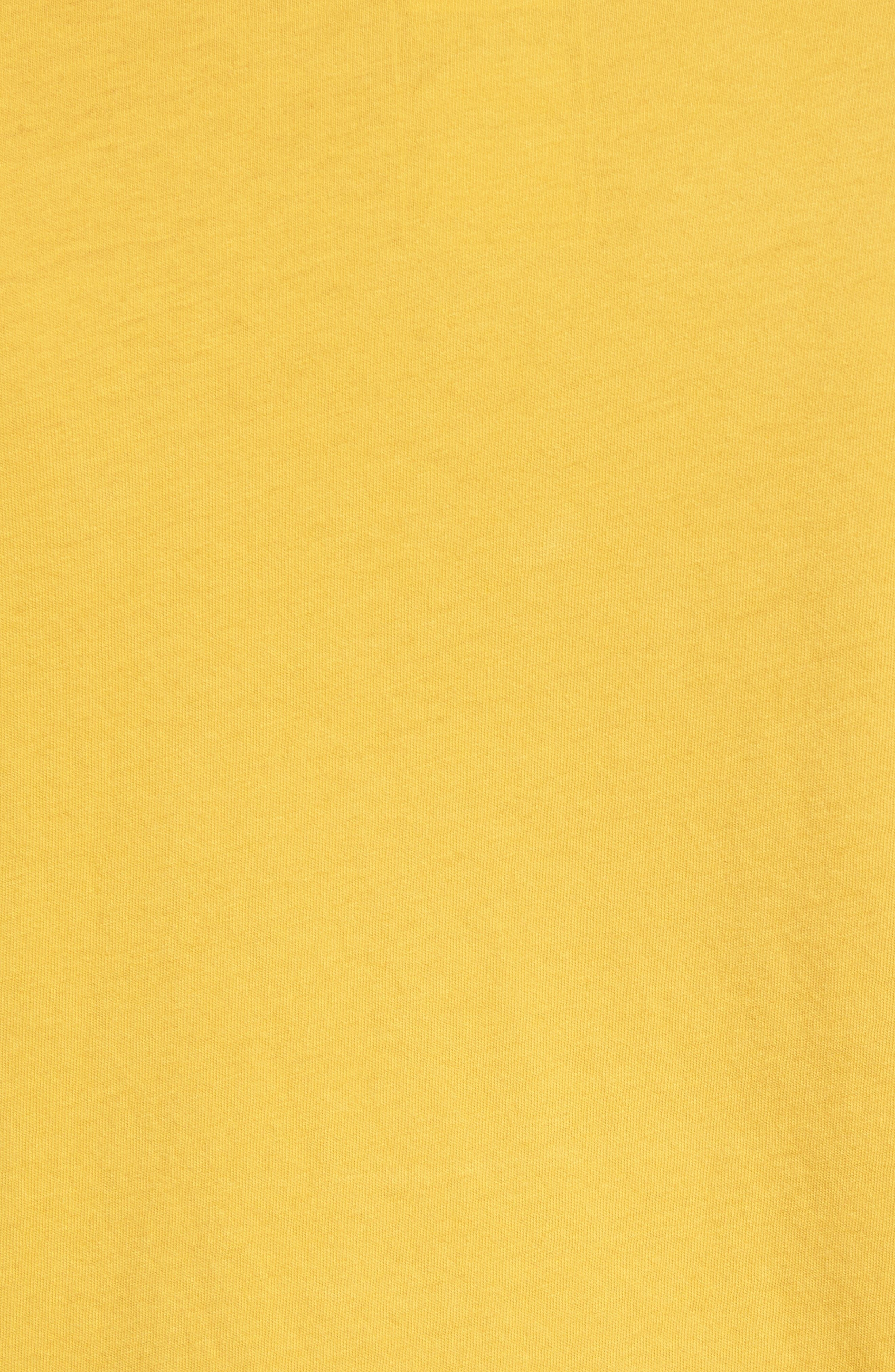 Well Loved Edge to Edge T-Shirt,                             Alternate thumbnail 5, color,                             Olivenite Yellow