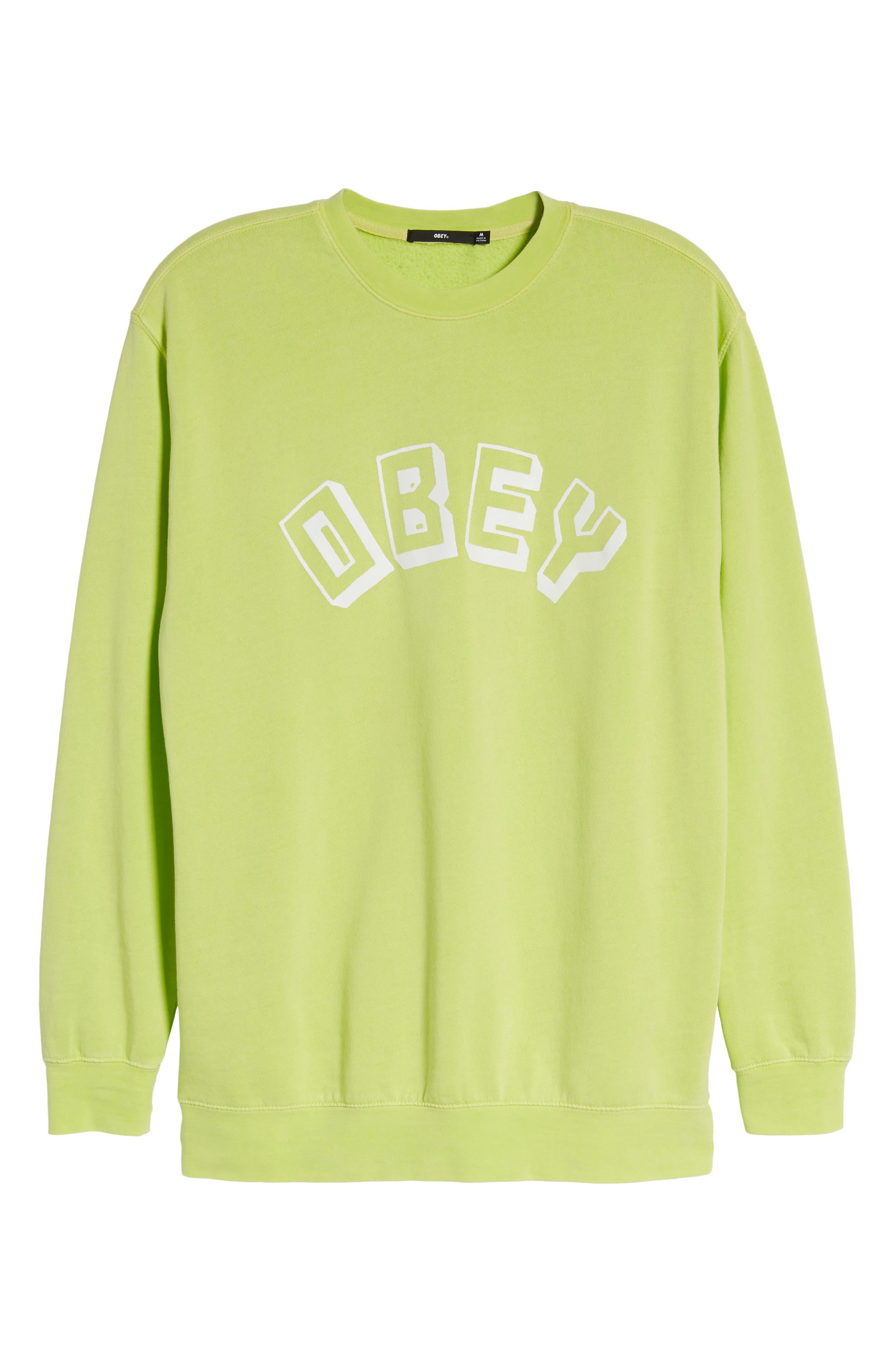 New World Sweatshirt,                             Alternate thumbnail 6, color,                             Dusty Mint