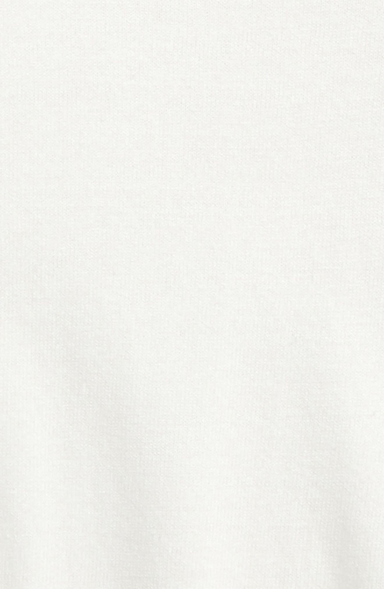 Cold Shoulder Pullover,                             Alternate thumbnail 2, color,                             White