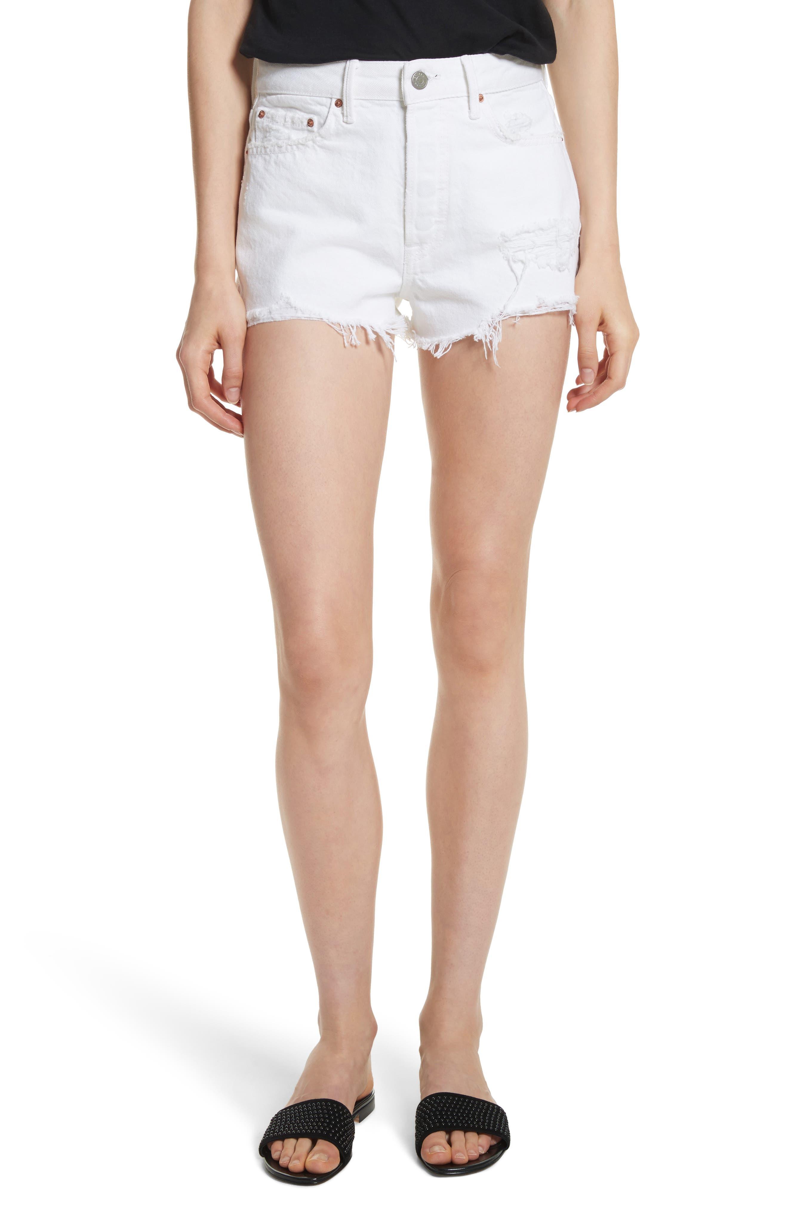 GRLFRND Cindy Rigid High Waist Denim Shorts (Granada)