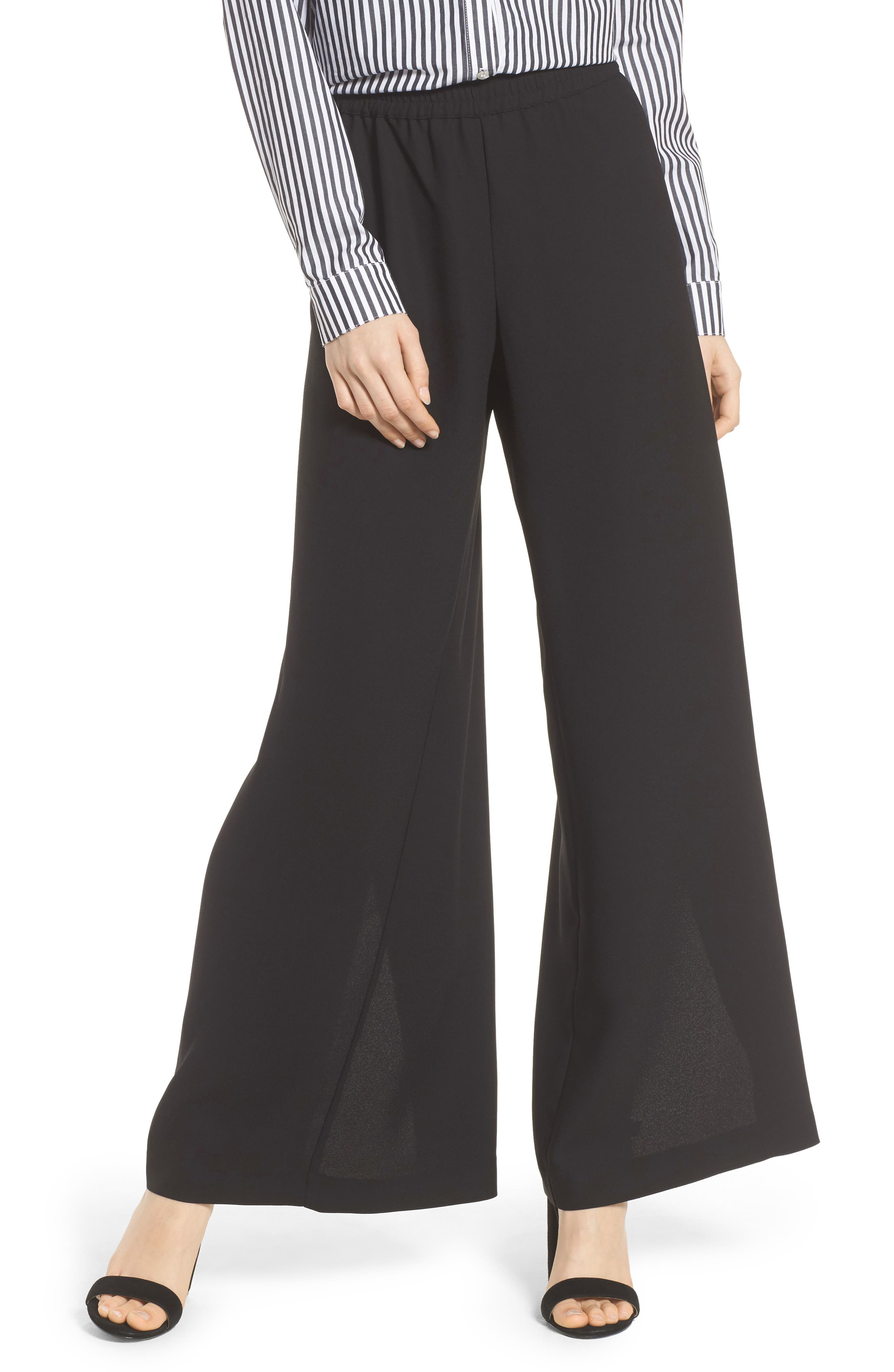 Trouvé Side Slit Wide Leg Pants