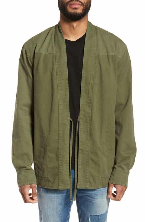 Men's Green Casual Button-Down Shirts Clothing: Shop Men's Green ...