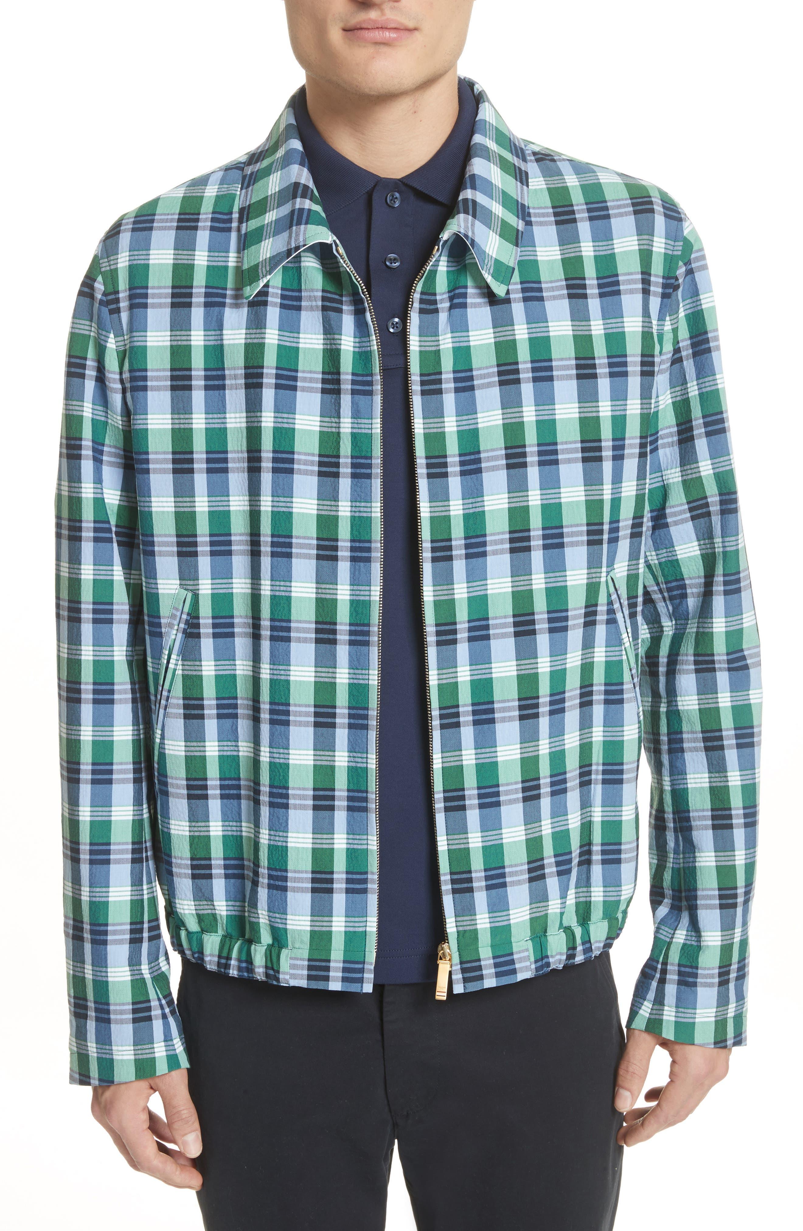 Alternate Image 1 Selected - Thom Browne Plaid Jacket