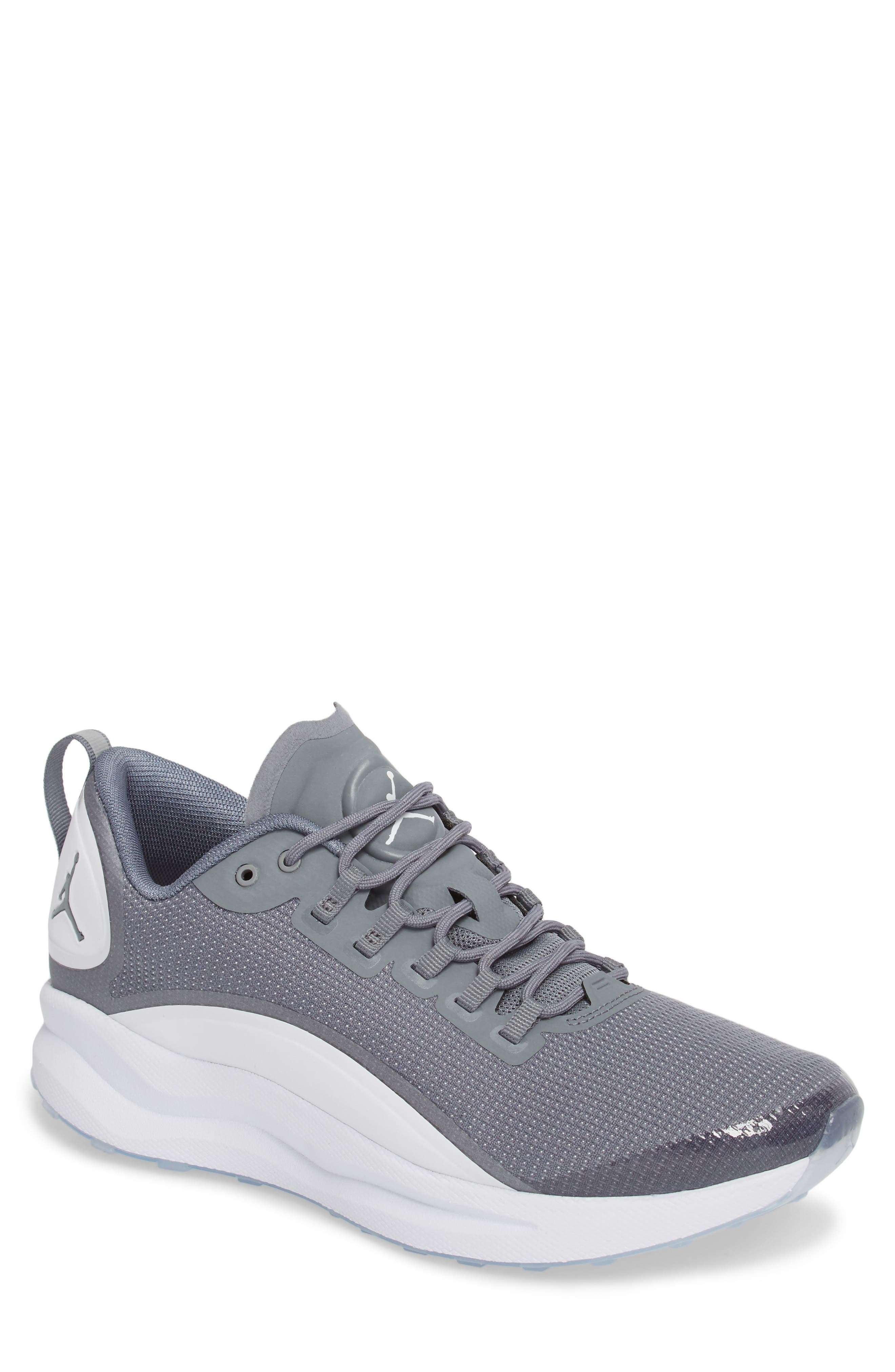 Nike Jordan Zoom Tenacity Running Shoe In Cool Grey  White  Medium Grey 3386f8640