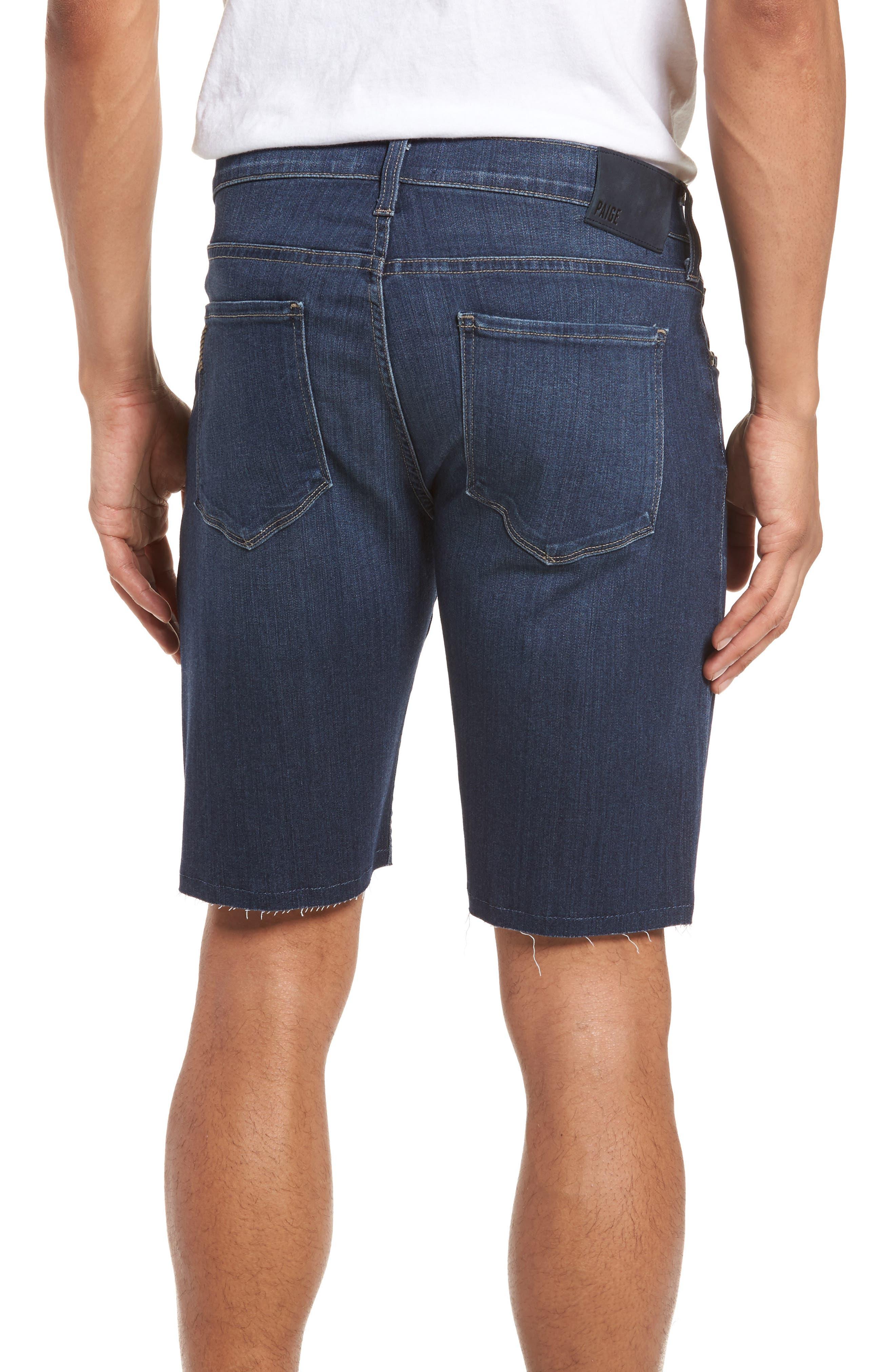 Transcend - Federal Slim Straight Leg Denim Shorts,                             Alternate thumbnail 2, color,                             Leo