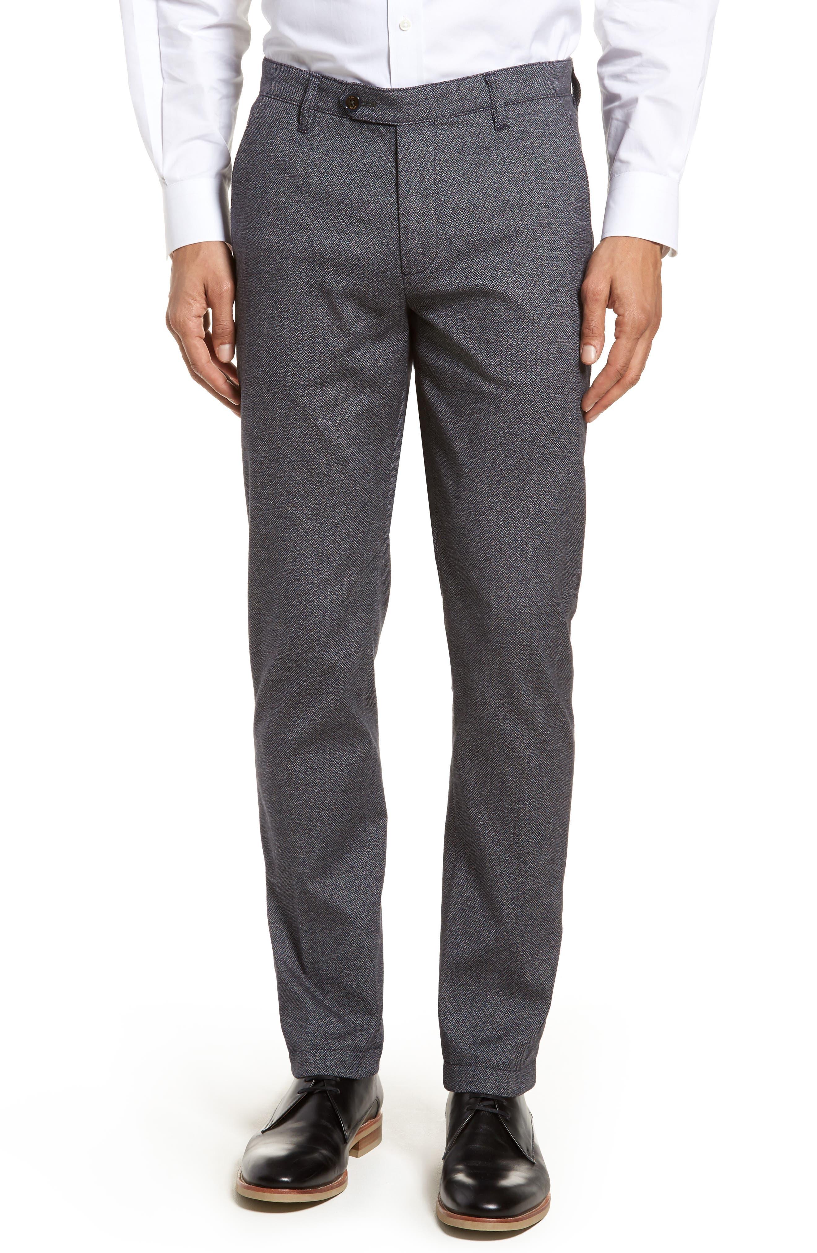 Pintz Slim Fit Trousers,                             Main thumbnail 1, color,                             Navy