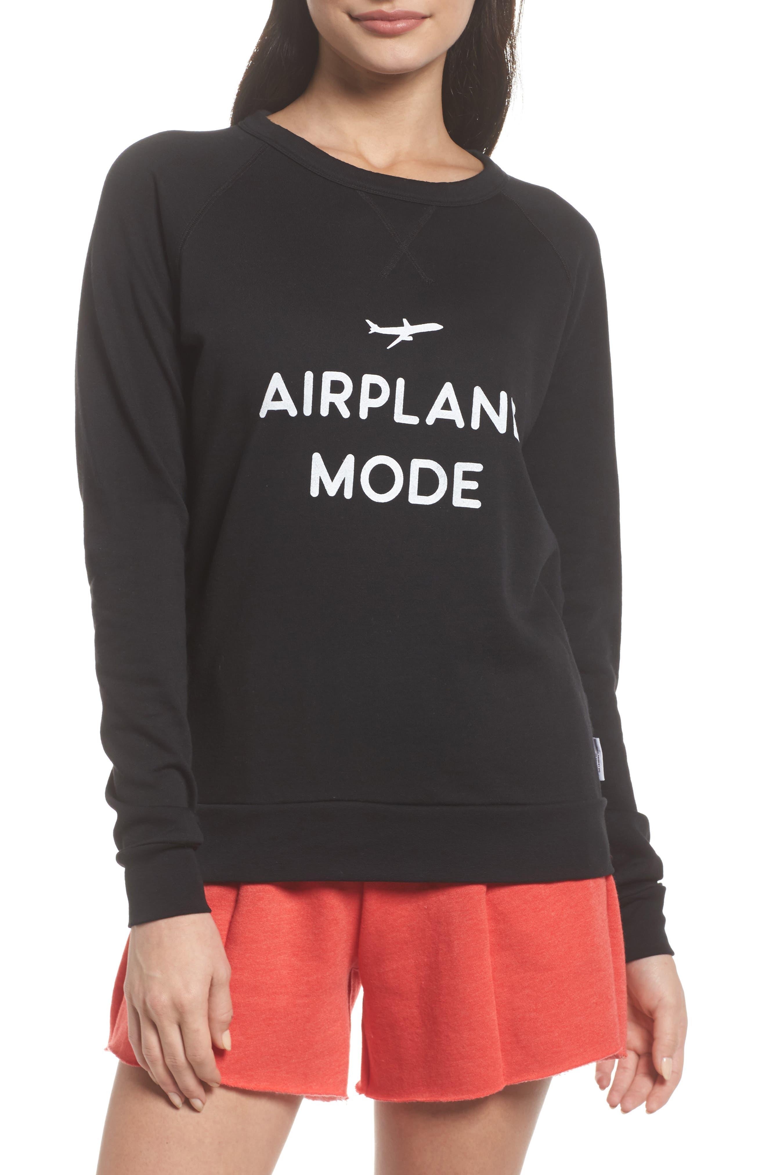The Laundry Room Airplane Mode Cozy Lounge Sweatshirt
