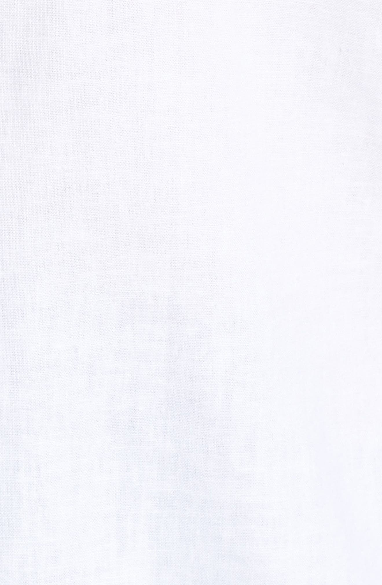 Button Front Camisole,                             Alternate thumbnail 5, color,                             White