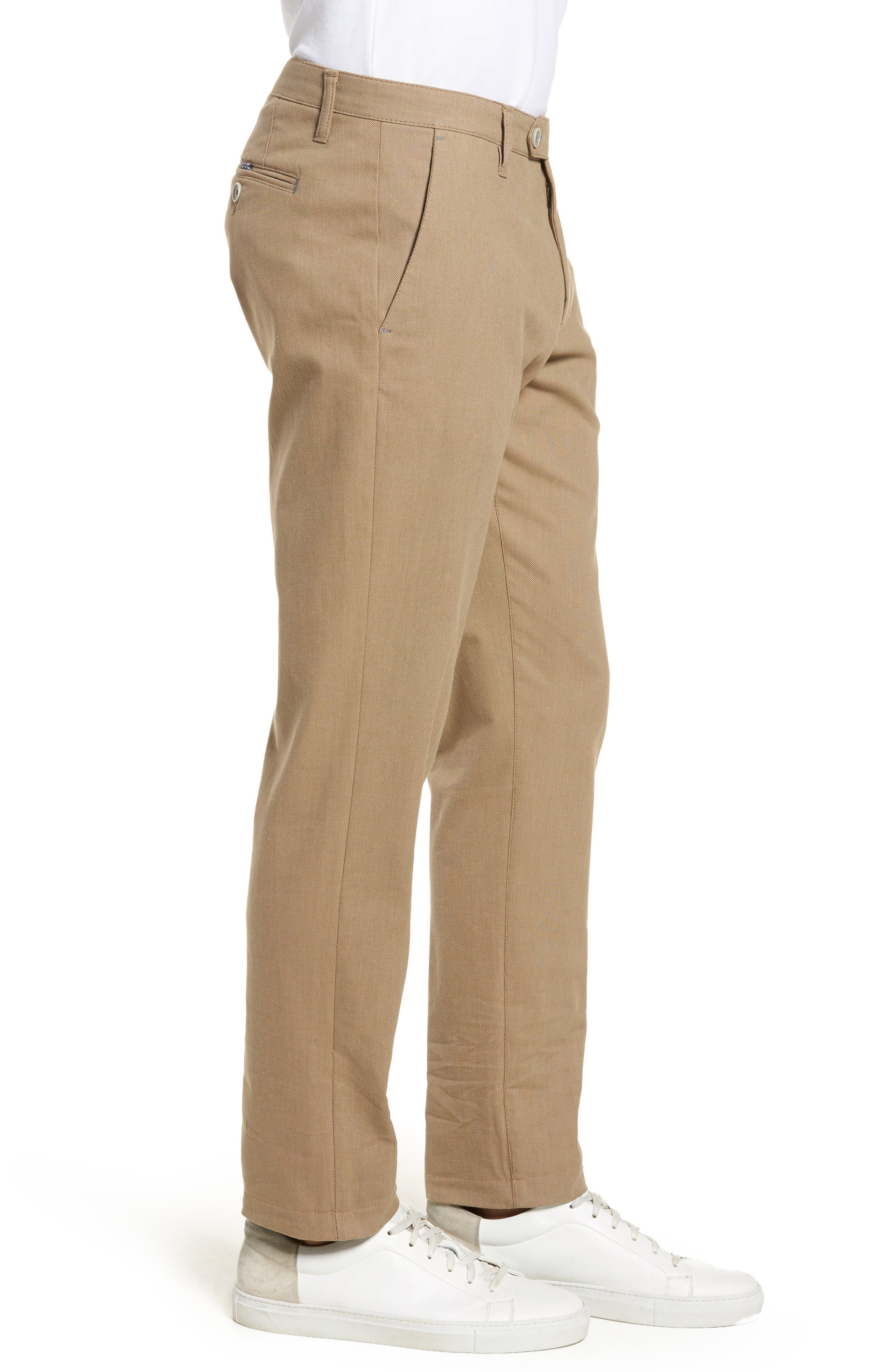 Alternate Image 3  - Ted Baker London Holclas Classic Fit Chino Pants