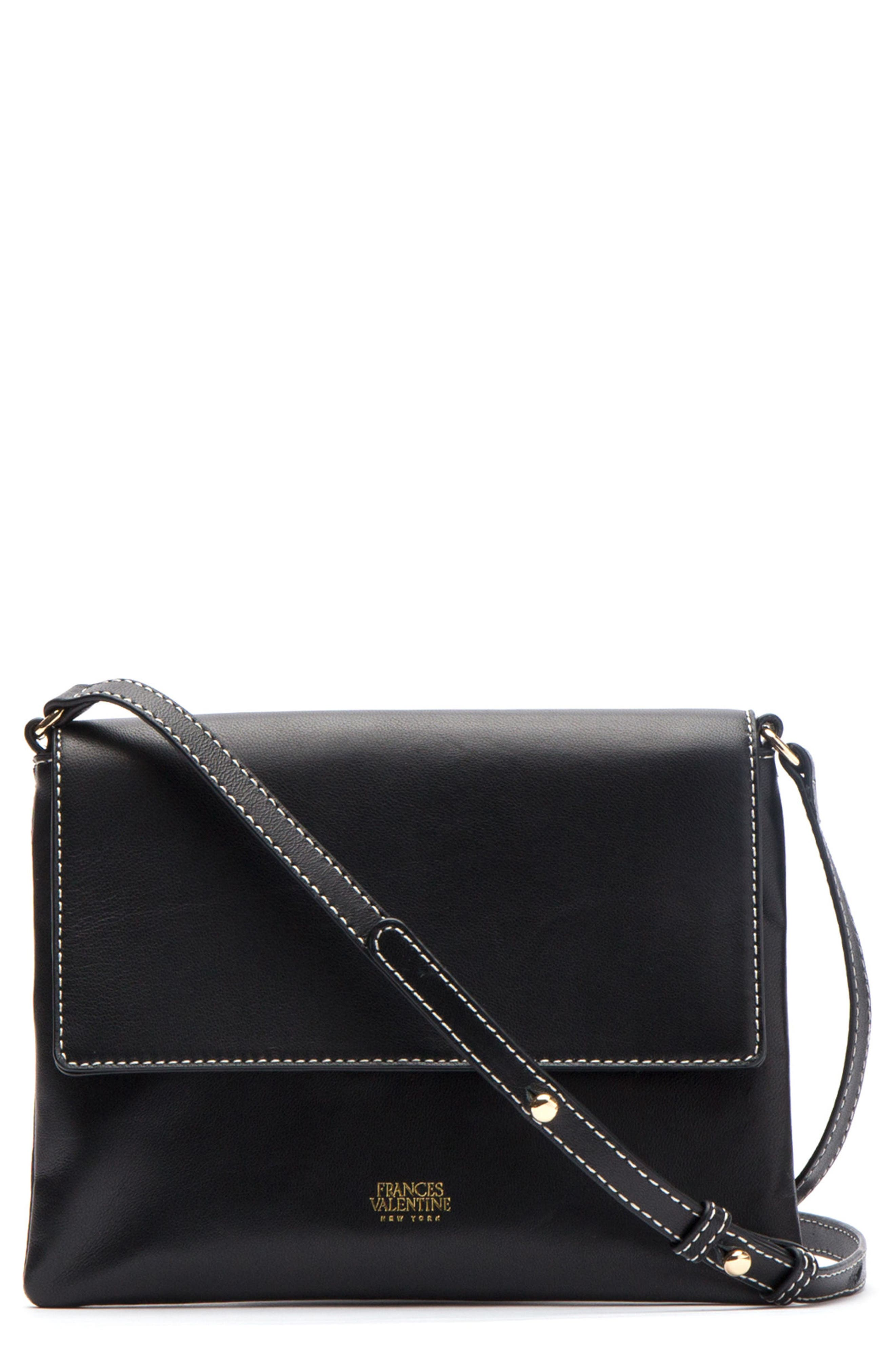 Alternate Image 1 Selected - Frances Valentine Maggie Leather Crossbody Bag