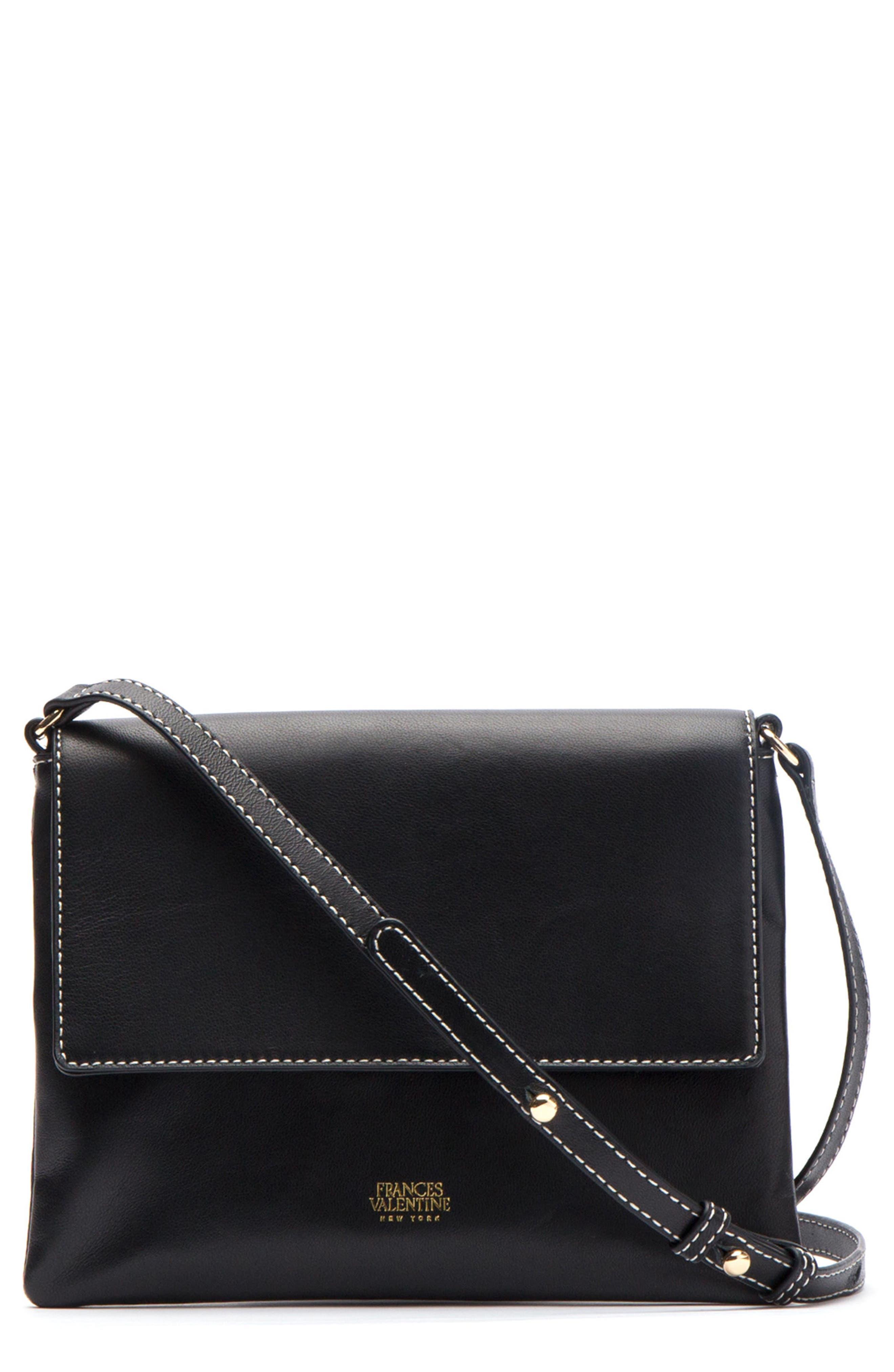 Main Image - Frances Valentine Maggie Leather Crossbody Bag