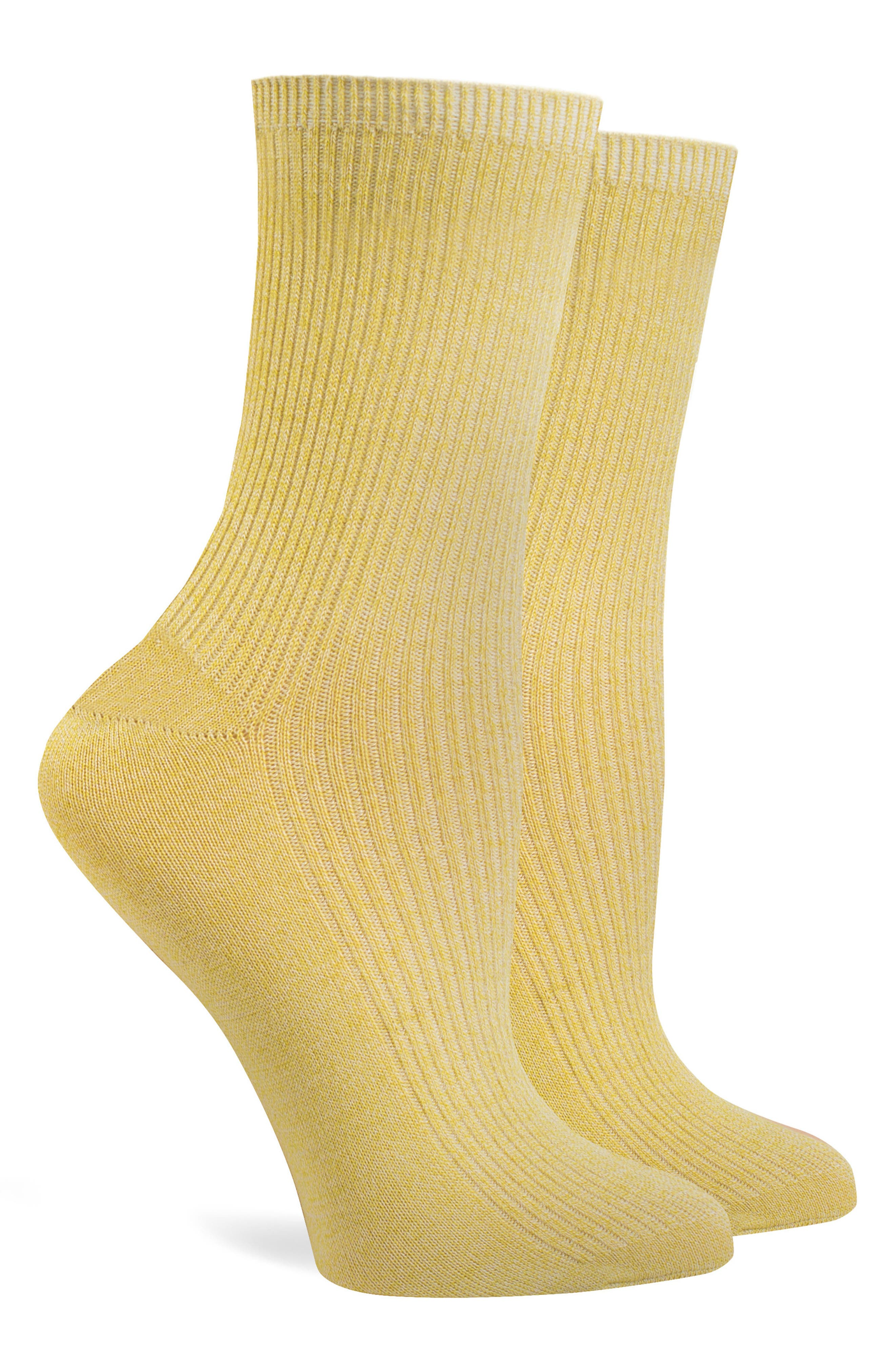 Nightingale Crew Socks,                             Alternate thumbnail 3, color,                             Green