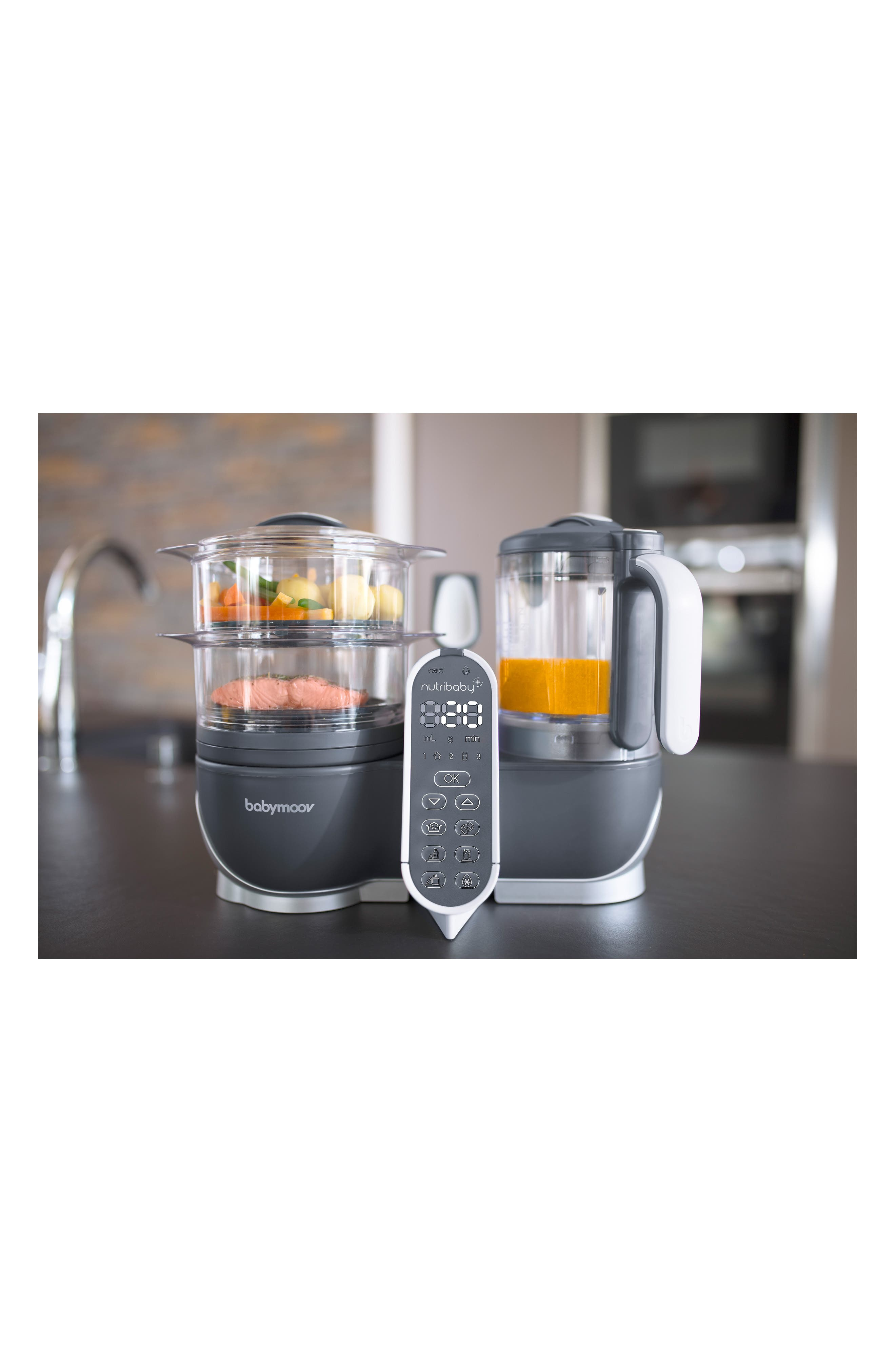 Nutribaby Duo Meal Station 5-in-1 Food Maker,                             Alternate thumbnail 2, color,                             Industrial Grey