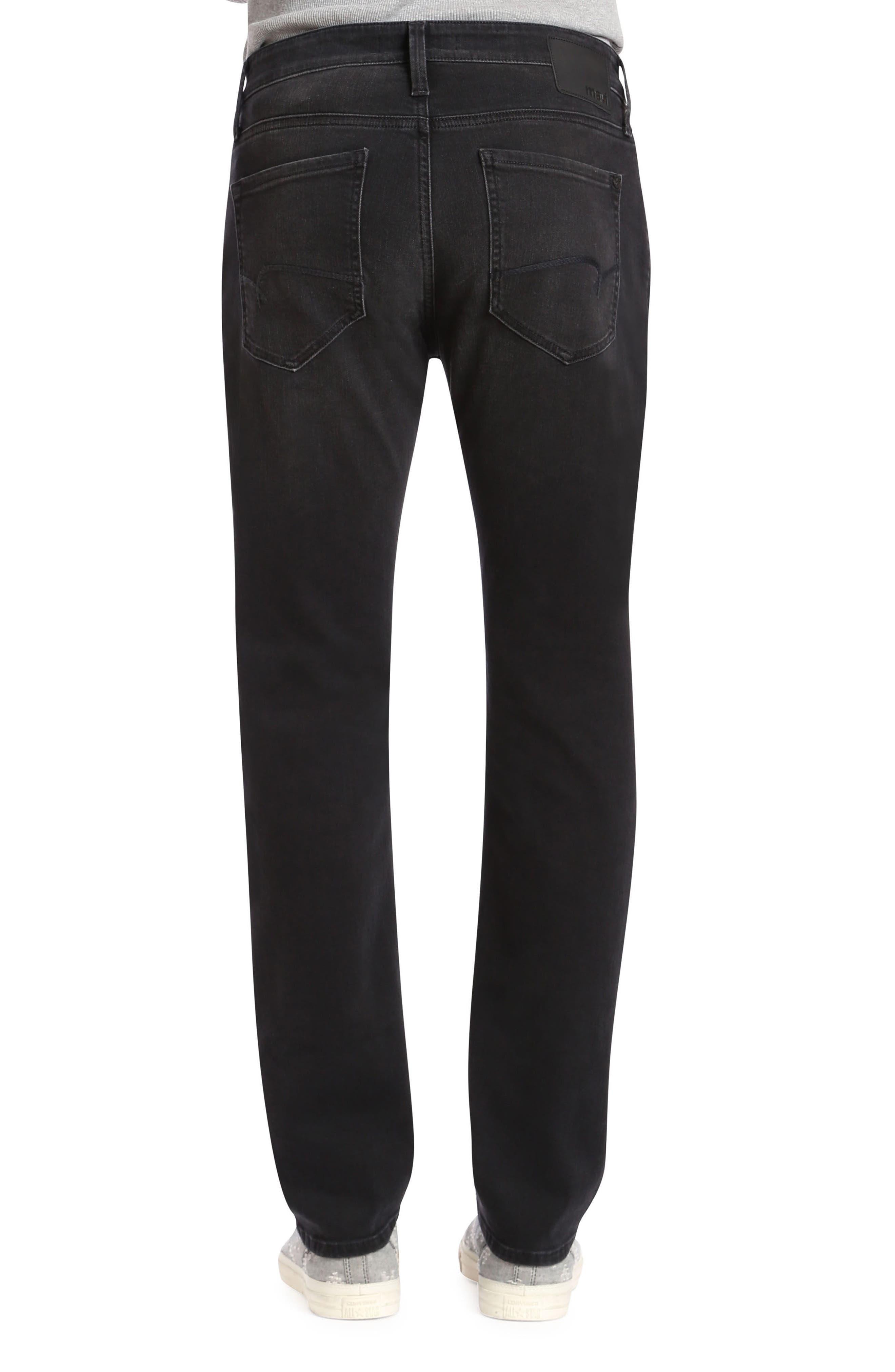Marcus Slim Straight Leg Jeans,                             Alternate thumbnail 2, color,                             Dark Smoke Williamsburg