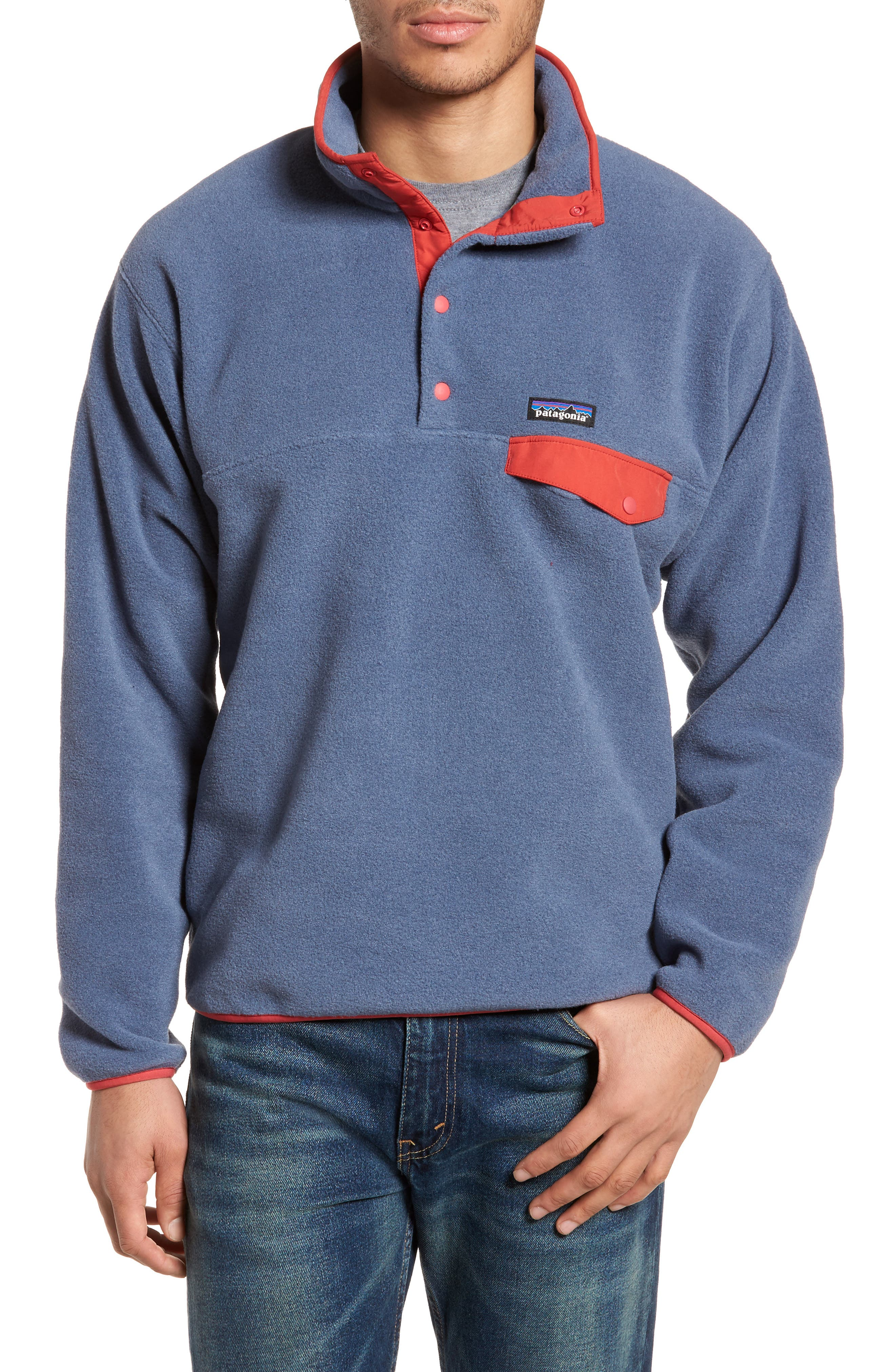 Main Image - Patagonia Synchilla® Snap-T® Fleece Pullover