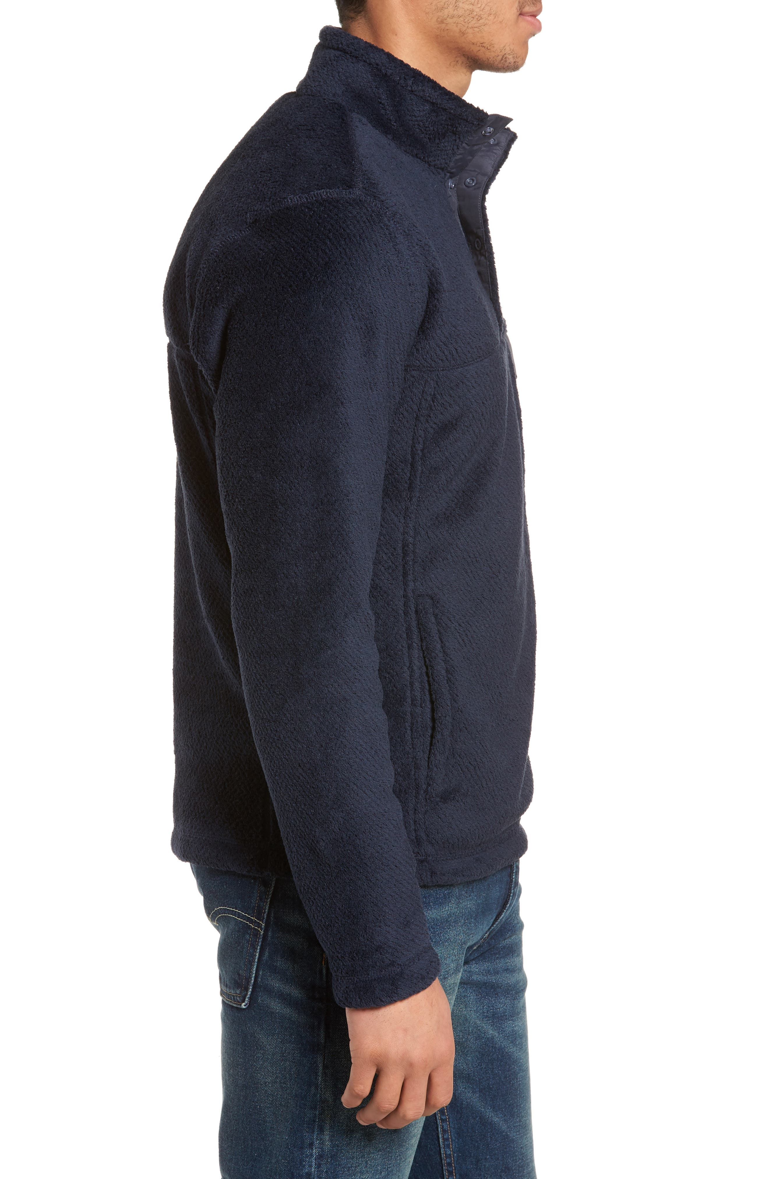 Re-Tool Snap-T<sup>®</sup> Pullover,                             Alternate thumbnail 3, color,                             Navy Blue X-Dye