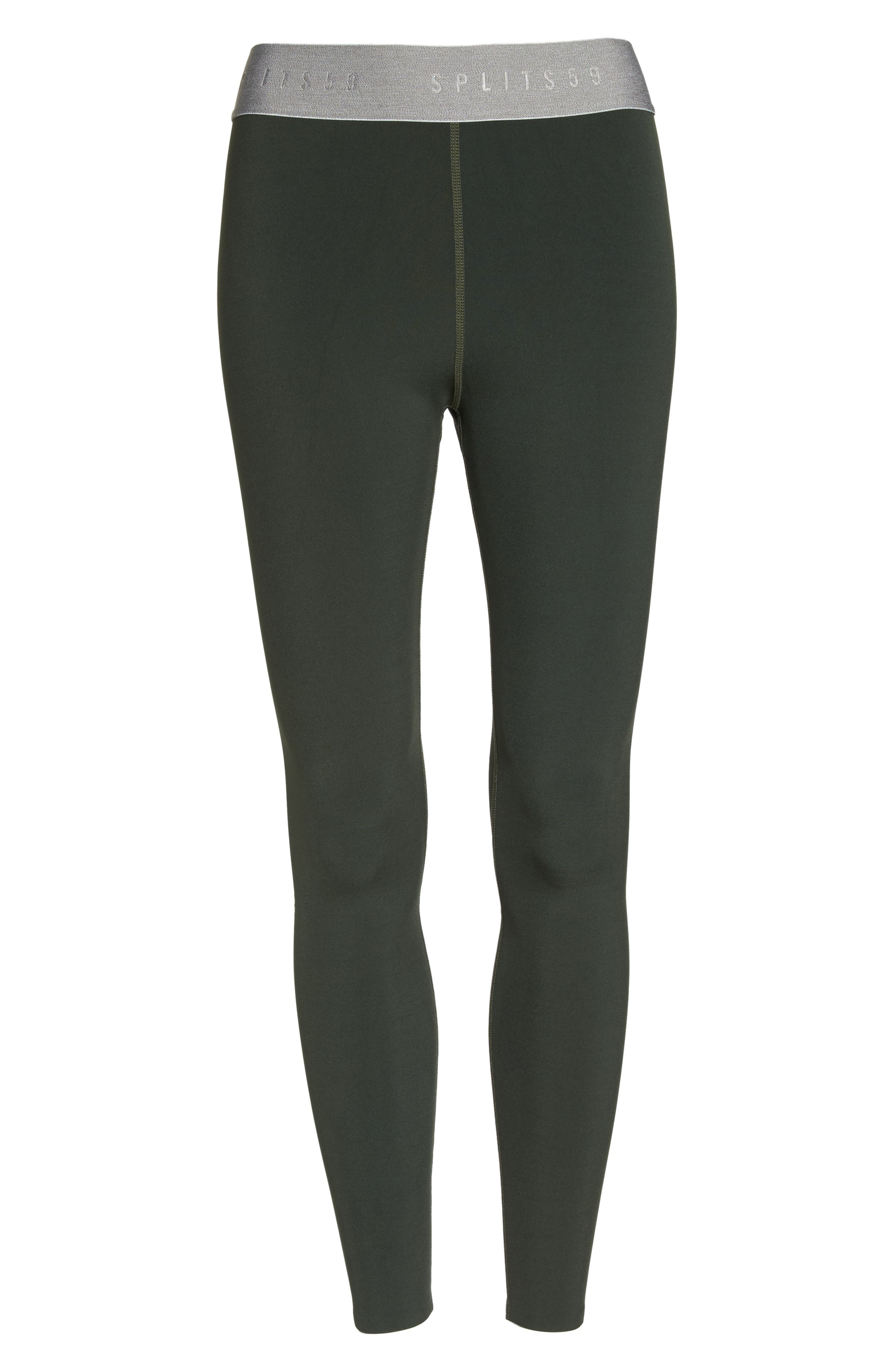 Tempo Ankle Tights,                             Alternate thumbnail 7, color,                             Army